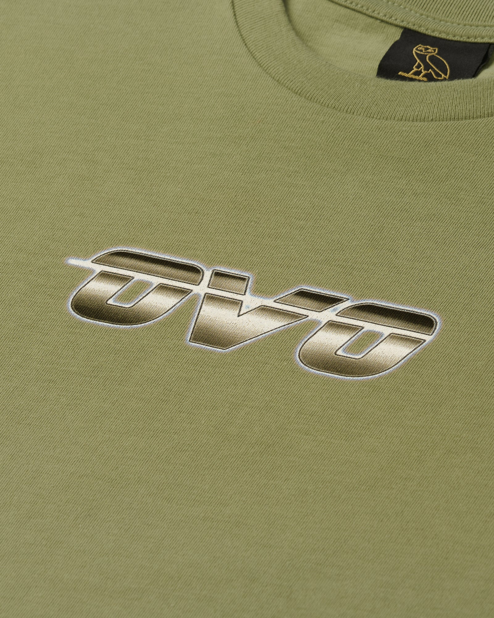 CHROME RUNNER T-SHIRT - OLIVE IMAGE #2