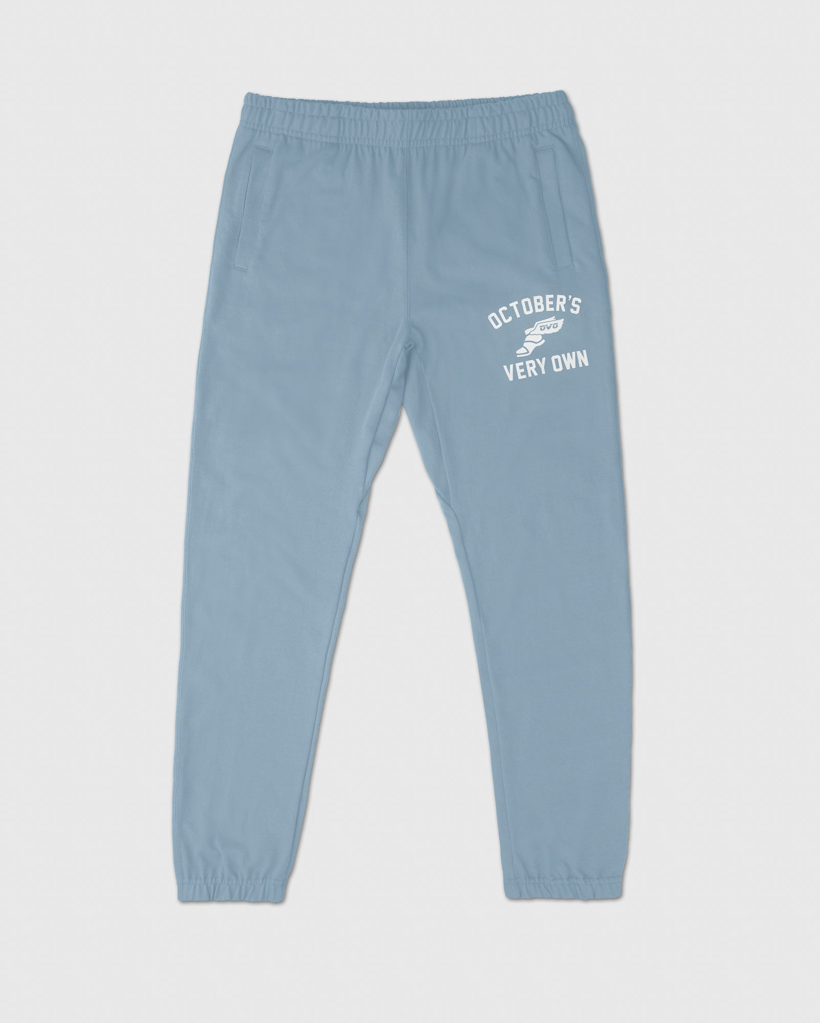CROSS COUNTRY SWEATPANT - DUSTY BLUE IMAGE #1