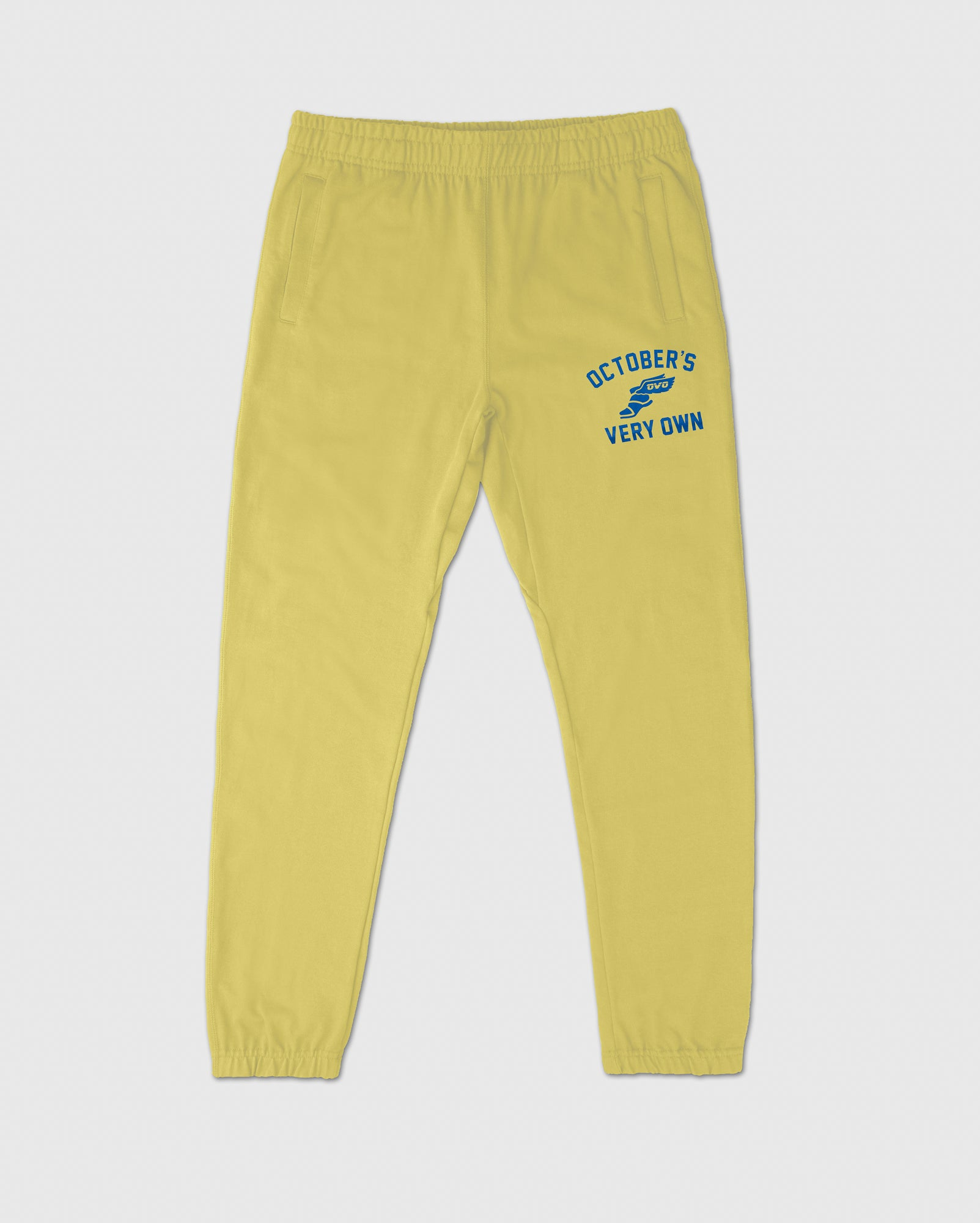 CROSS COUNTRY SWEATPANT - PALE YELLOW IMAGE #1