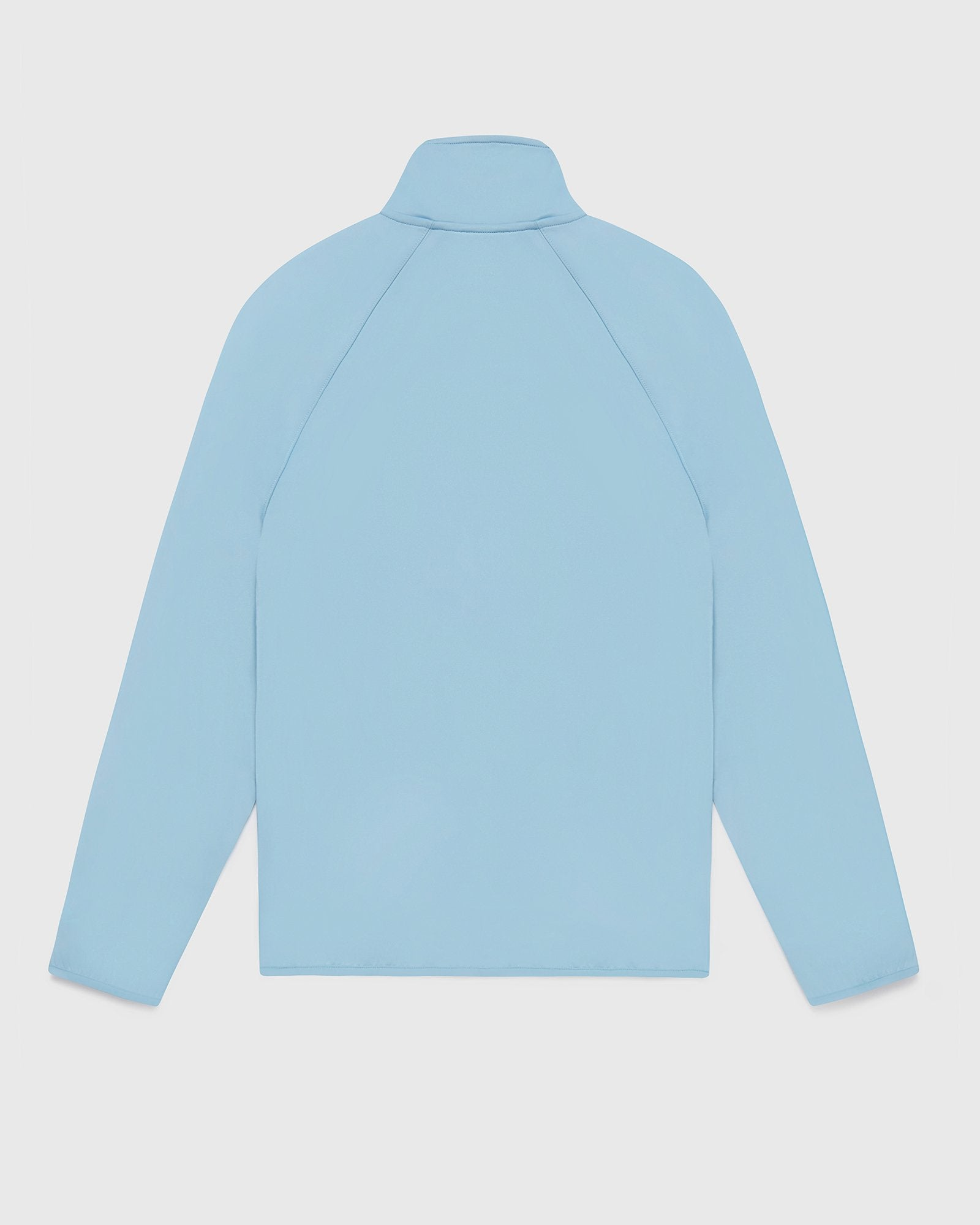 DOUBLE KNIT TRACK JACKET - DUSTY BLUE IMAGE #2