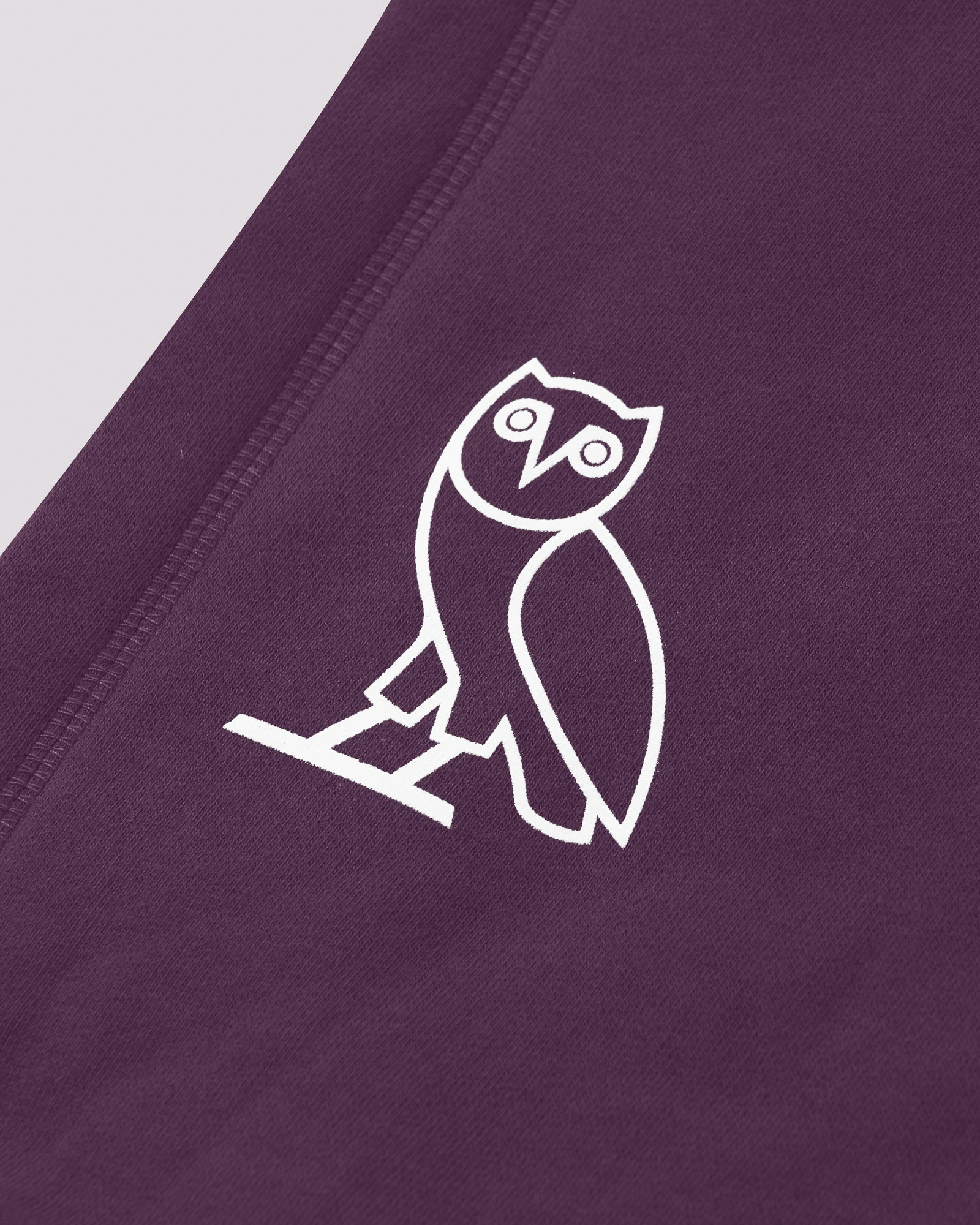 FAMILIA EMBROIDERED POCKET HOODIE - DARK PURPLE IMAGE #5