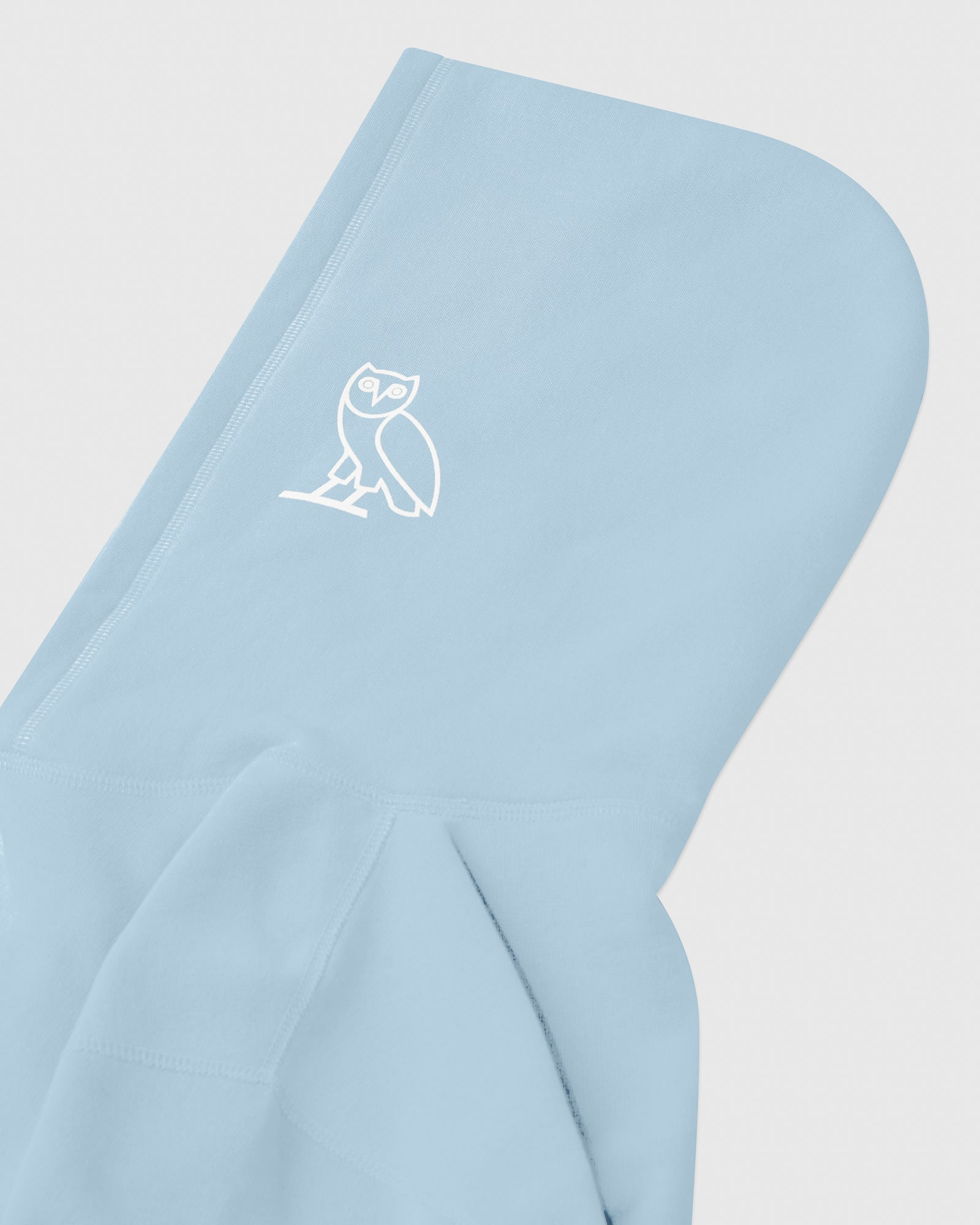 FAMILIA EMBROIDERED POCKET HOODIE - SKY BLUE IMAGE #4
