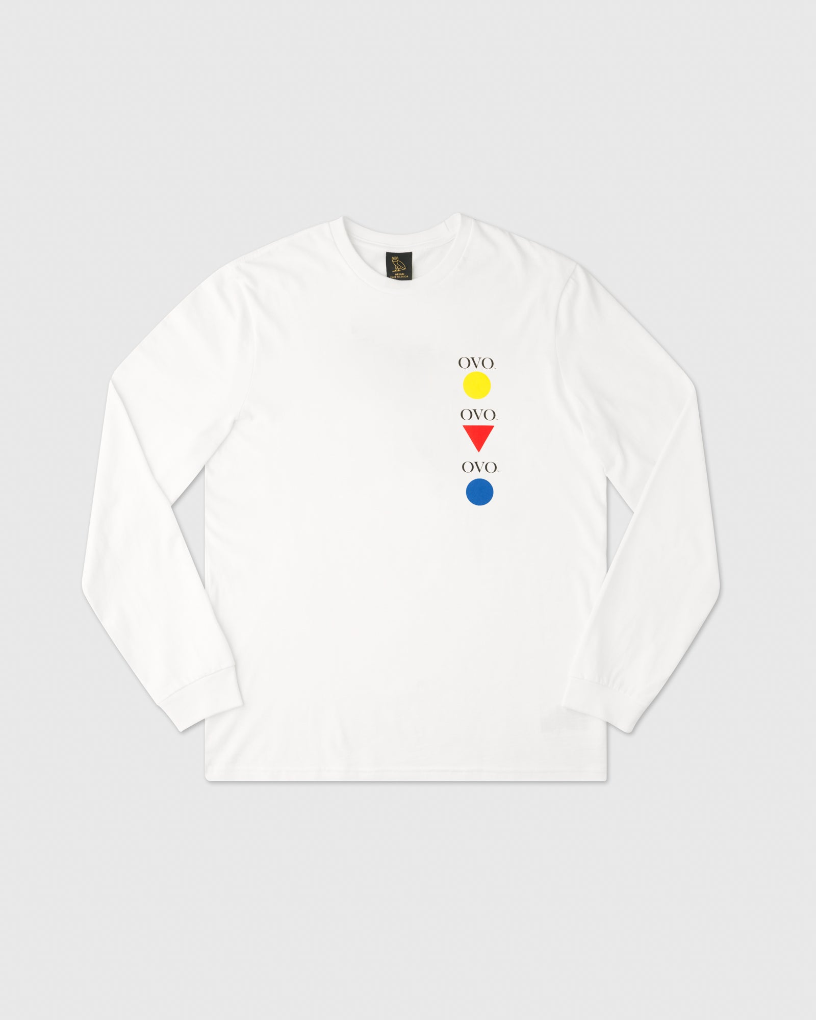 GALLERY LONGSLEEVE T-SHIRT - WHITE IMAGE #1