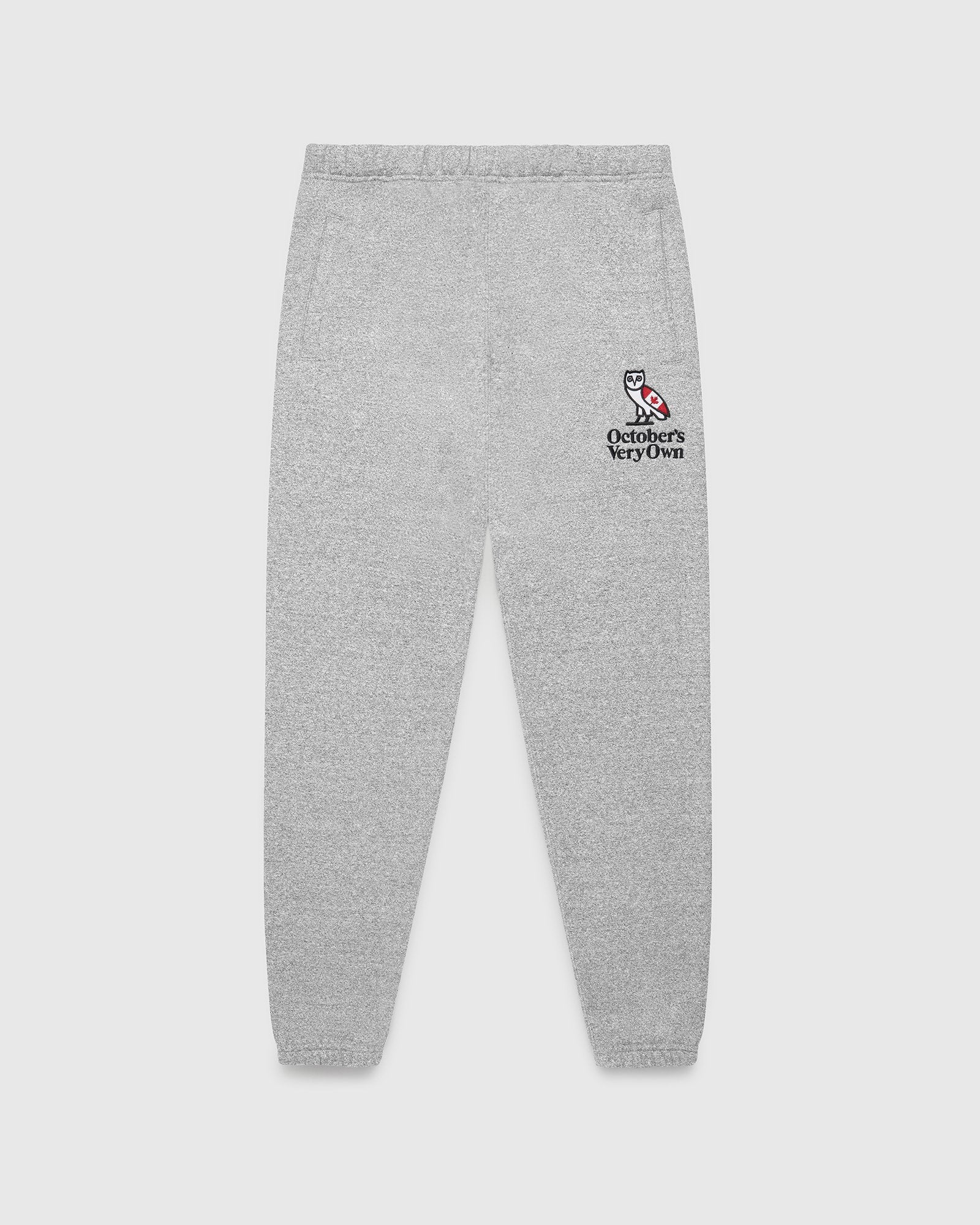 HERITAGE SWEATPANT - SPECKLED GREY IMAGE #1