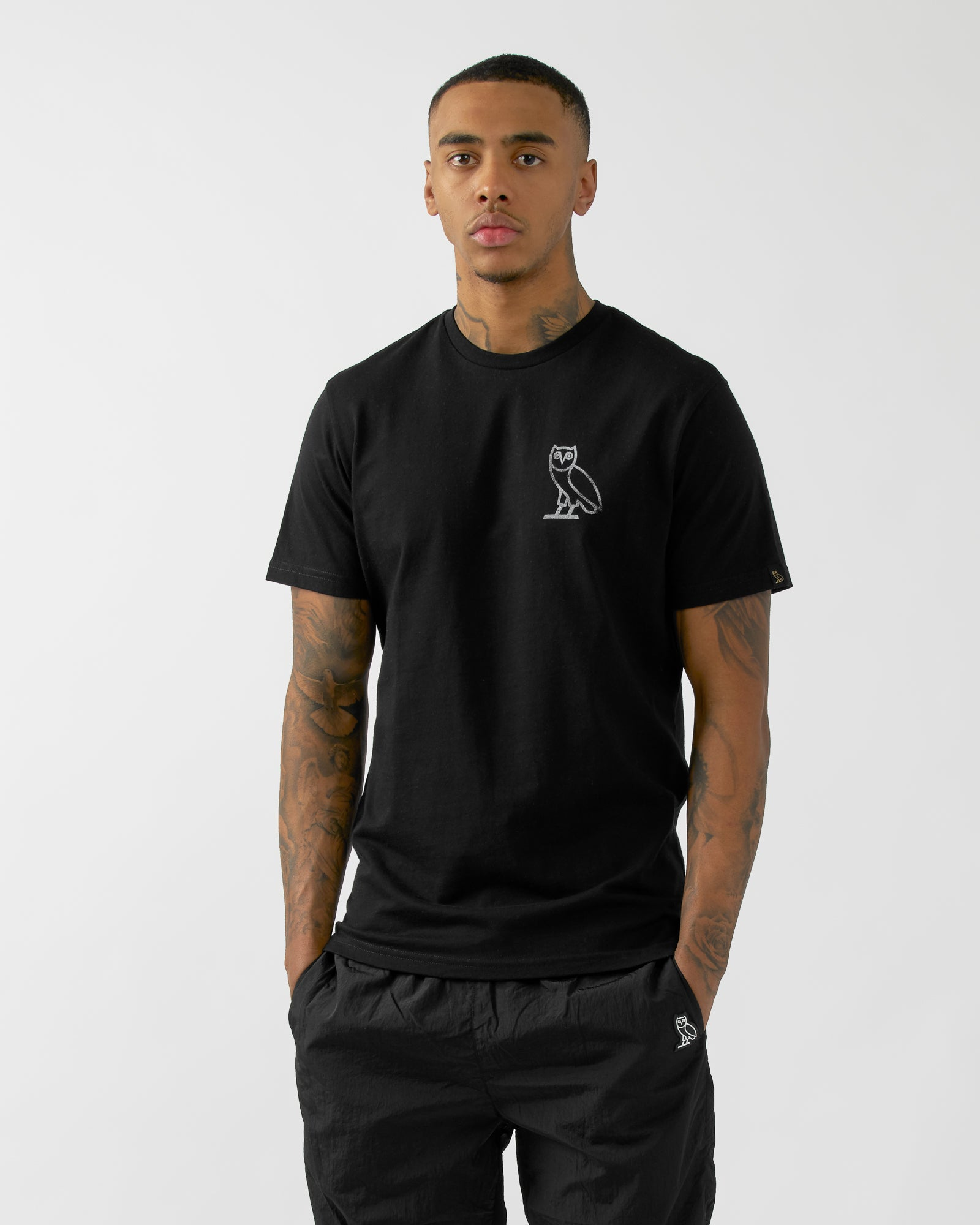 NEW SCHOOL T-SHIRT - BLACK IMAGE #3
