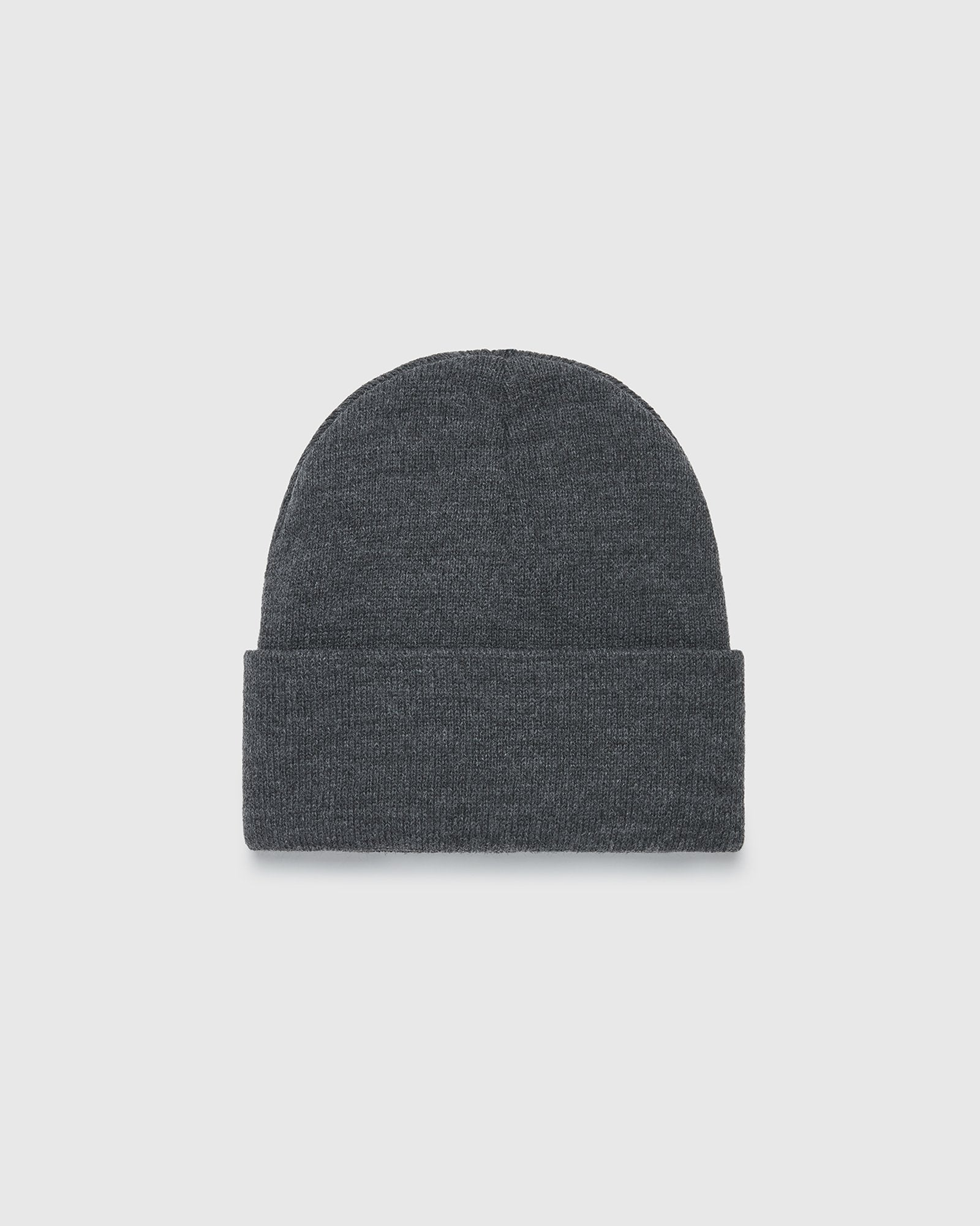 OVO BEANIE - DARK HEATHER GREY IMAGE #2