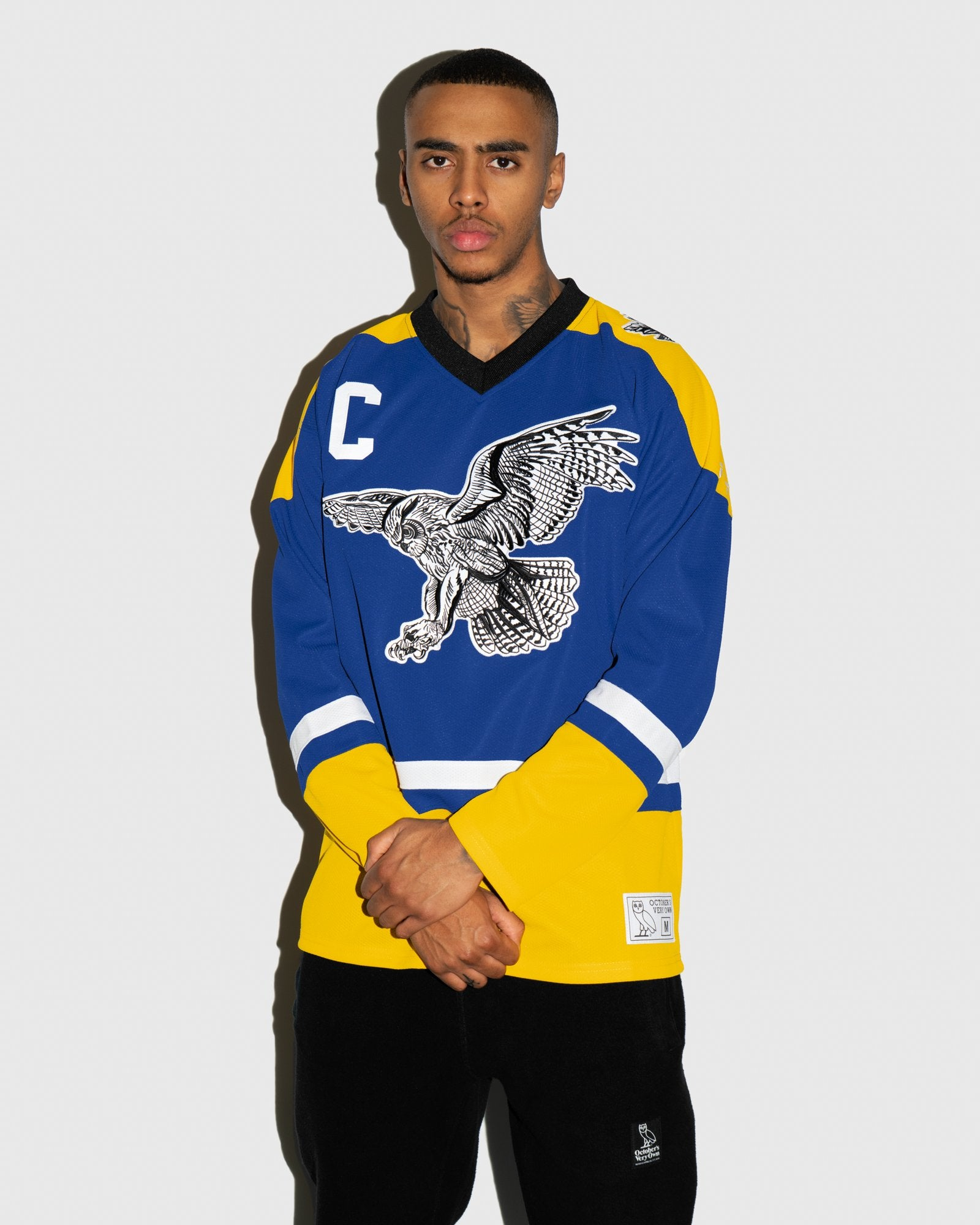 BIRD OF PREY HOCKEY JERSEY - ROYAL BLUE IMAGE #2