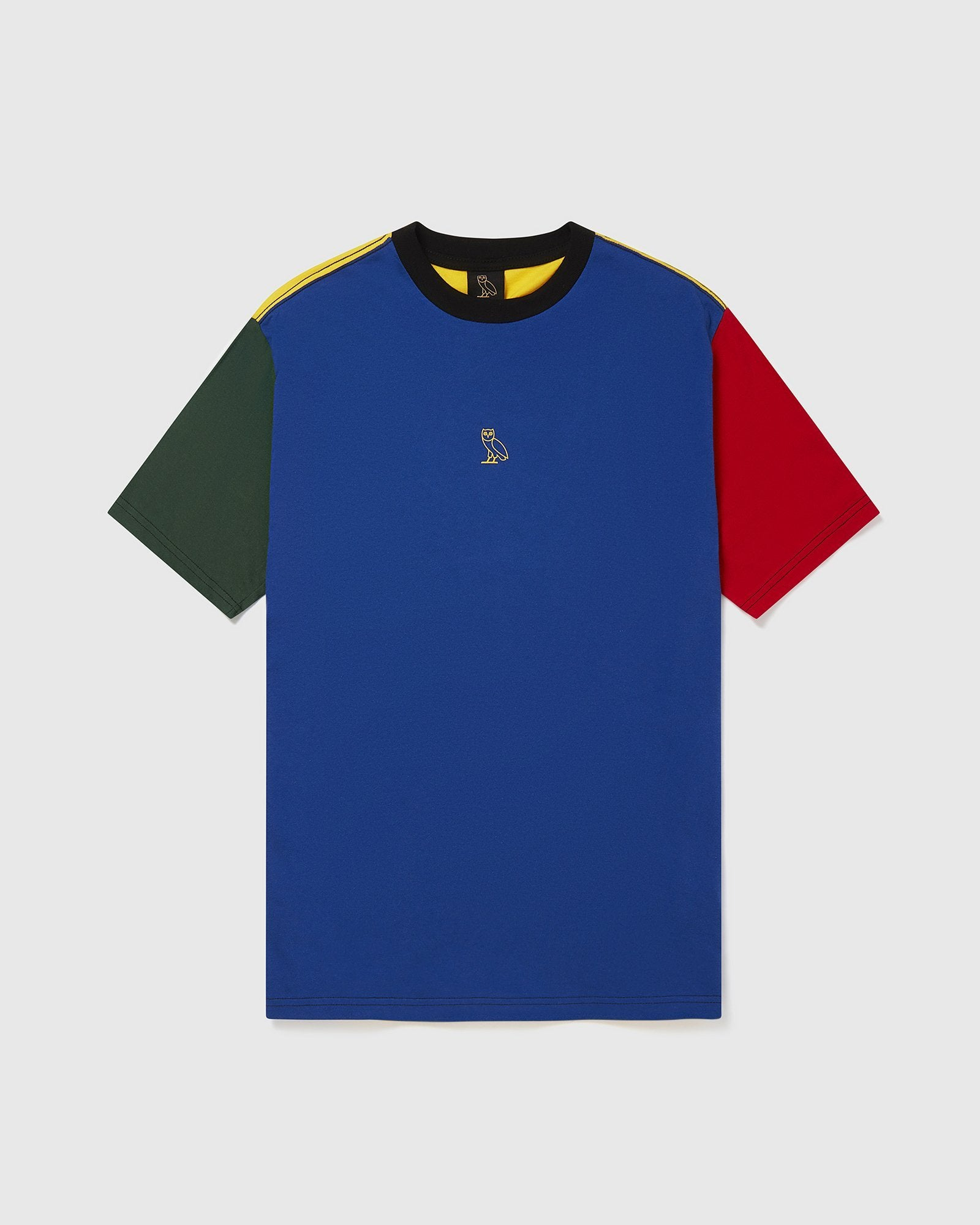 OVO BLOCK COLOUR T-SHIRT - MULTI IMAGE #1