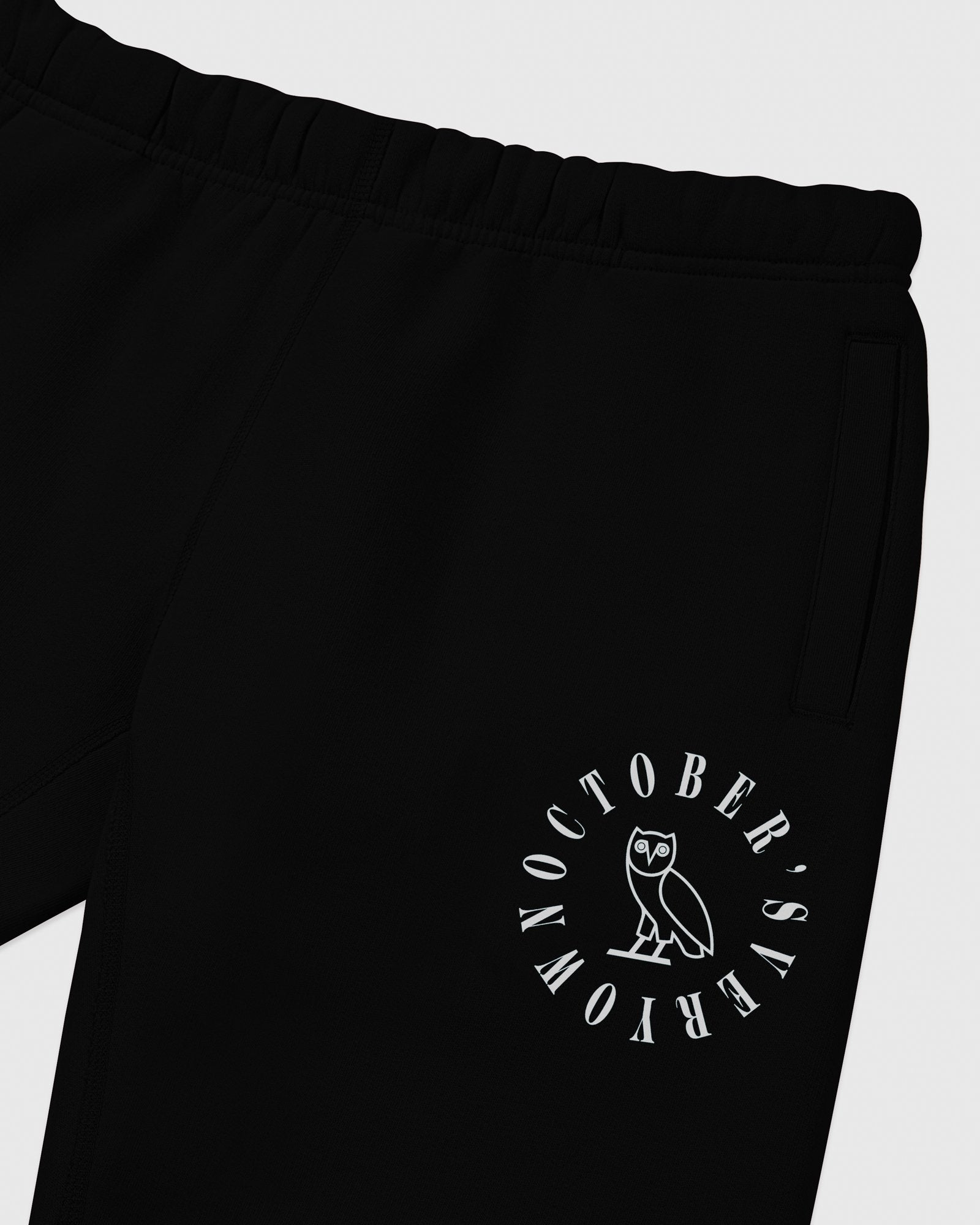 CIRCLE WORDMARK SWEATPANT - BLACK IMAGE #3