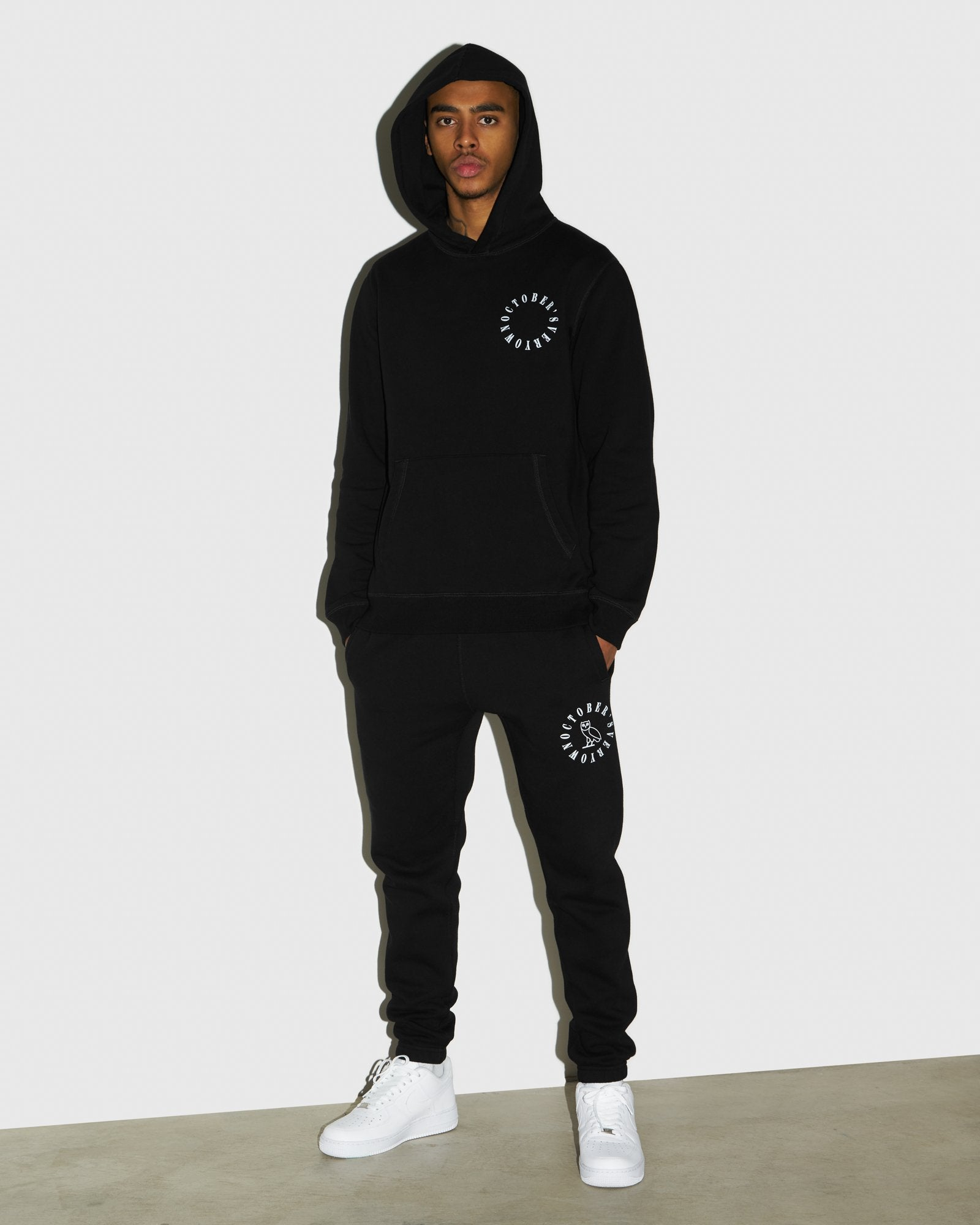 CIRCLE WORDMARK SWEATPANT - BLACK IMAGE #2