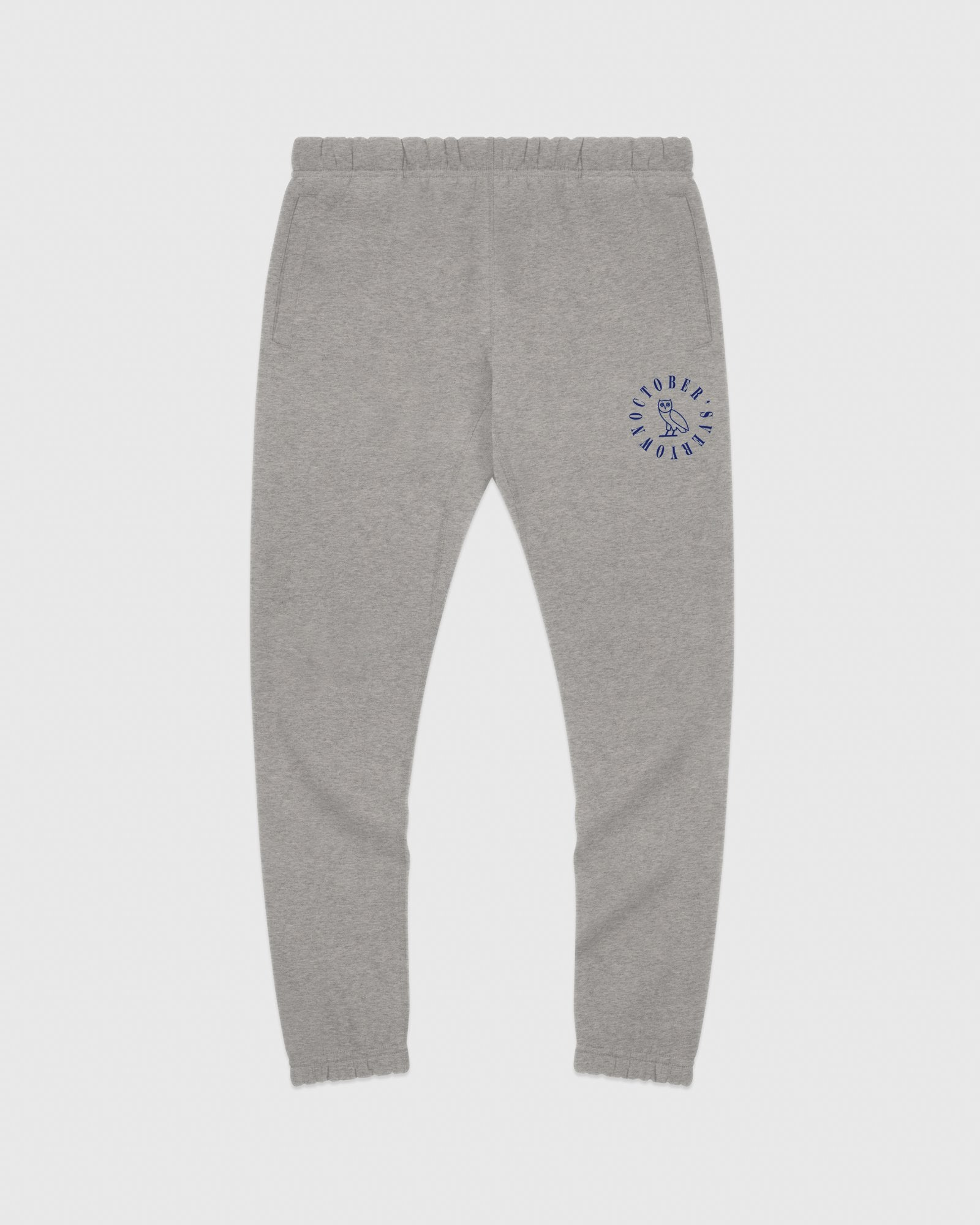 CIRCLE WORDMARK SWEATPANT - HEATHER GREY IMAGE #1