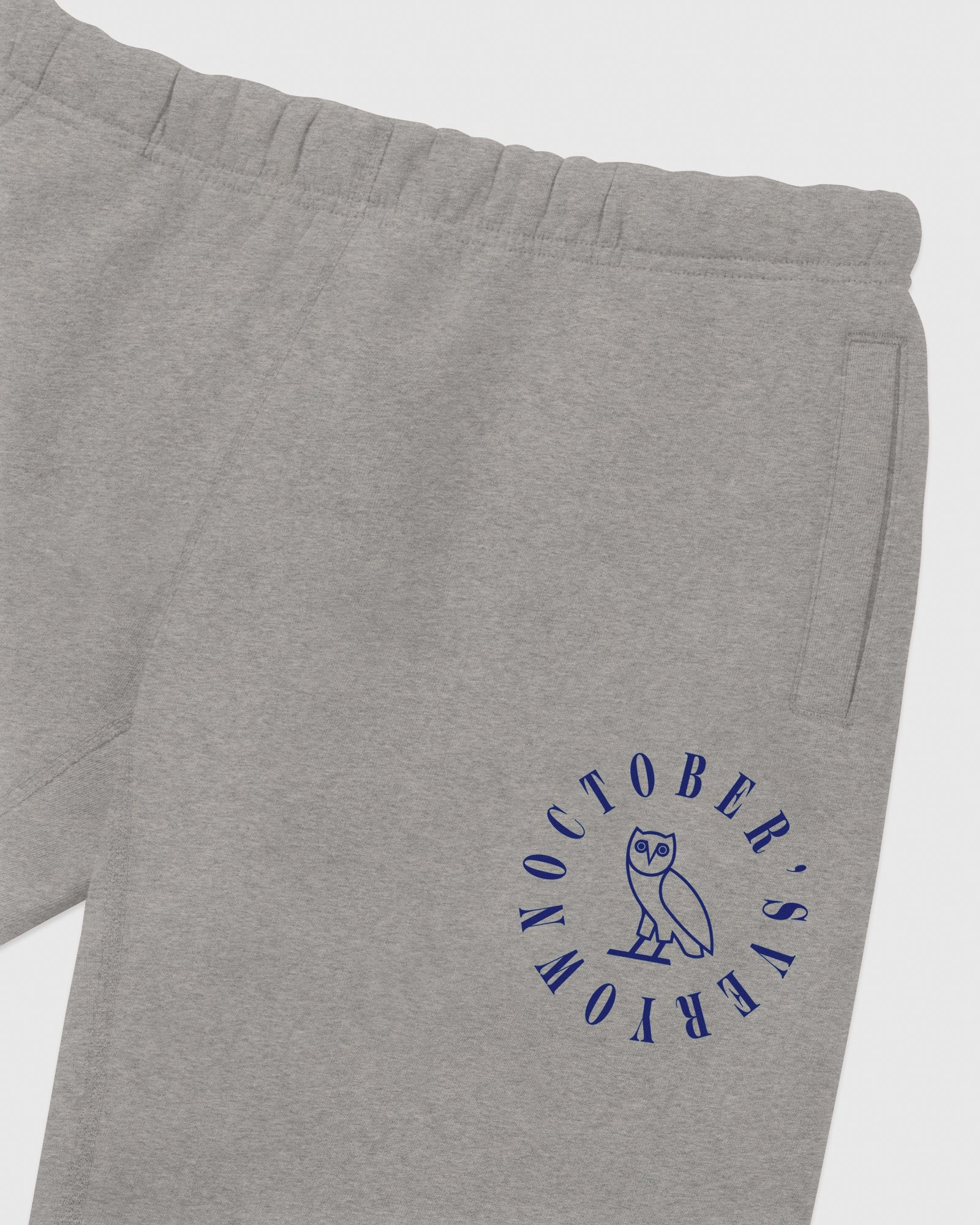 CIRCLE WORDMARK SWEATPANT - HEATHER GREY IMAGE #3