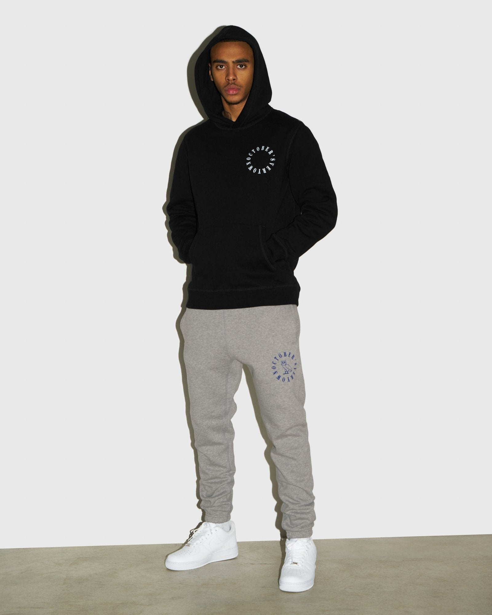 CIRCLE WORDMARK SWEATPANT - HEATHER GREY IMAGE #2