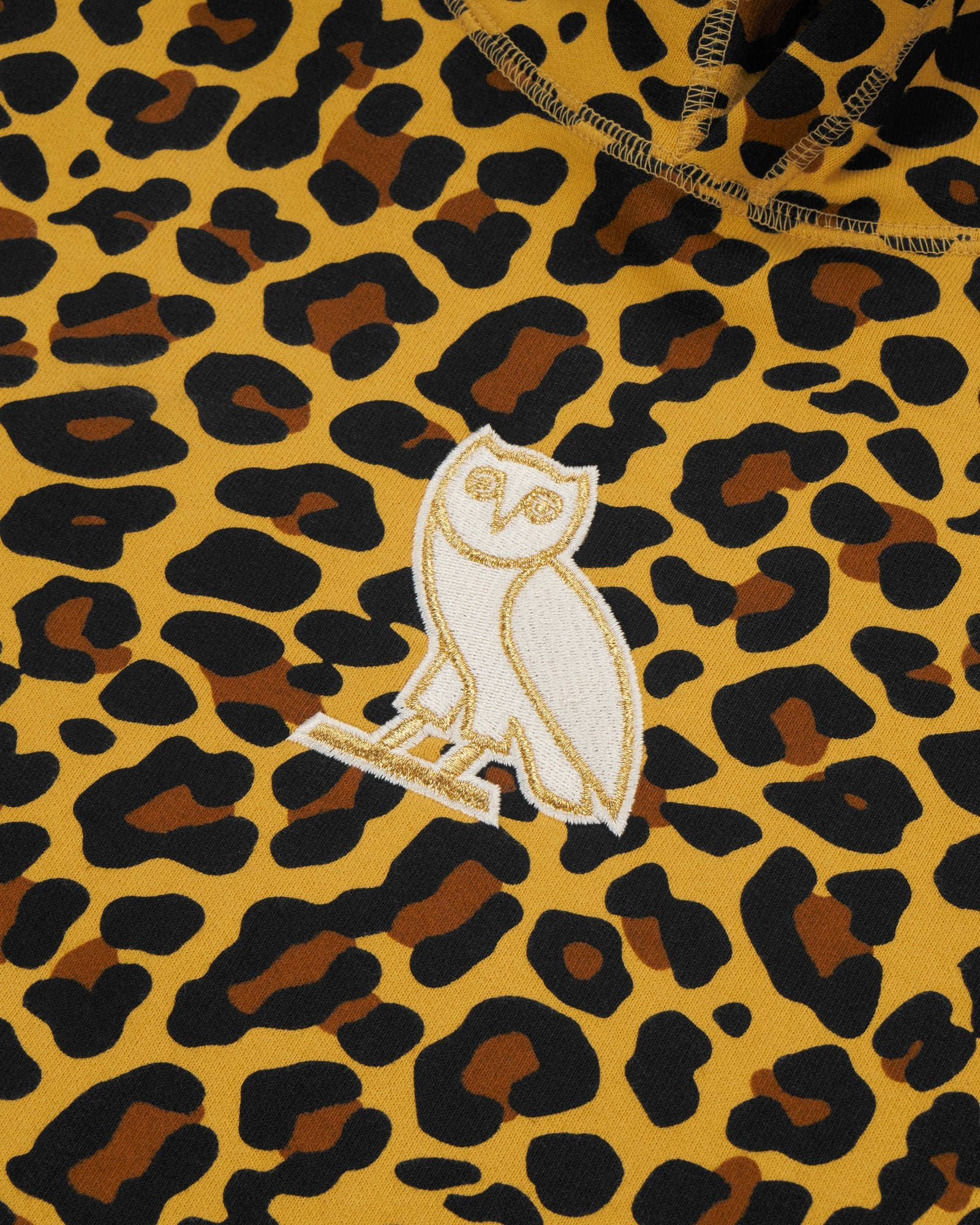 CLASSIC OWL HOODIE - LEOPARD IMAGE #3
