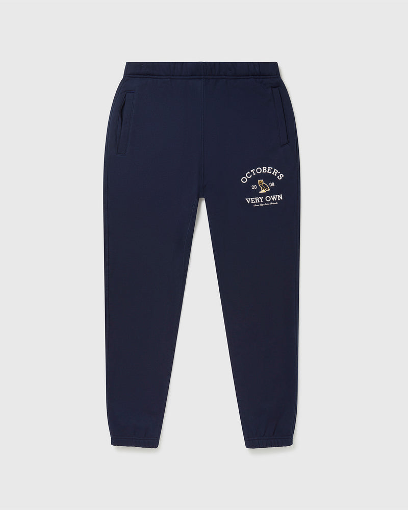 OVO COLLEGIATE SWEATPANT - NAVY