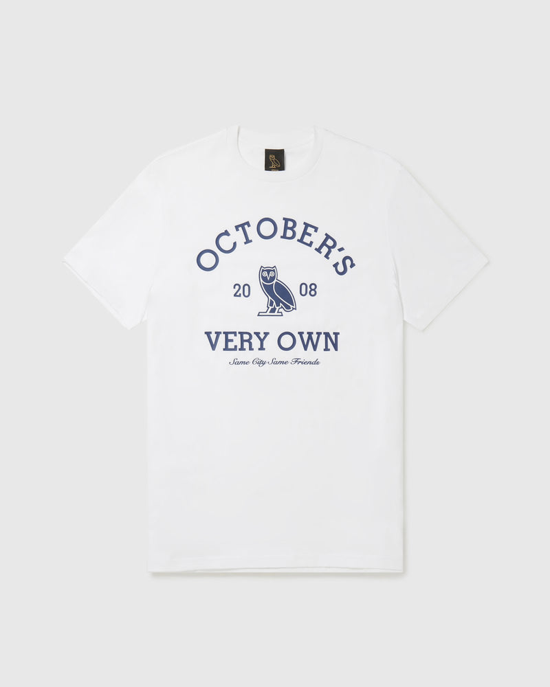 OVO COLLEGIATE T-SHIRT - WHITE