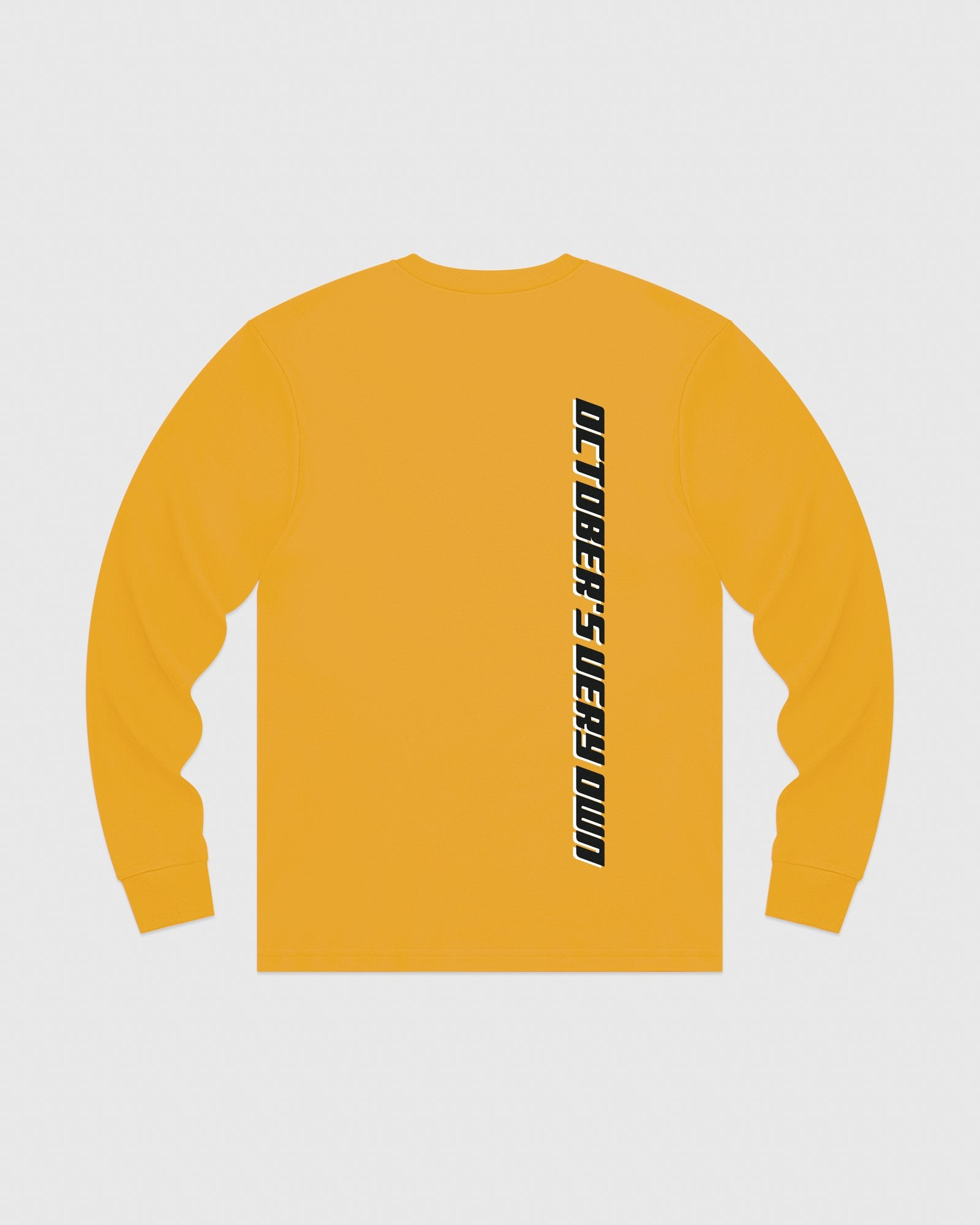 COMPETITION LONGSLEEVE T-SHIRT - AUTUMN YELLOW IMAGE #5