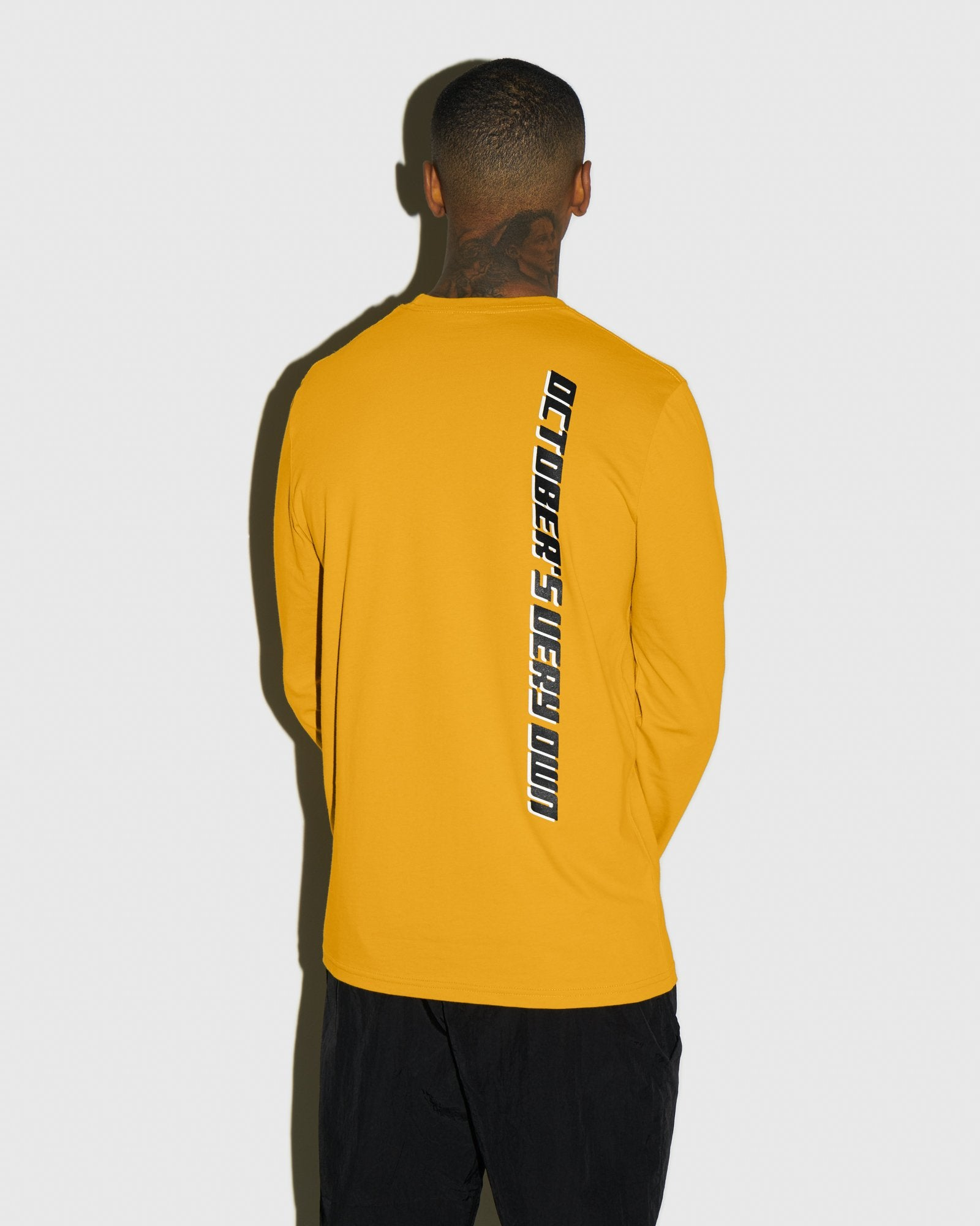 COMPETITION LONGSLEEVE T-SHIRT - AUTUMN YELLOW IMAGE #3