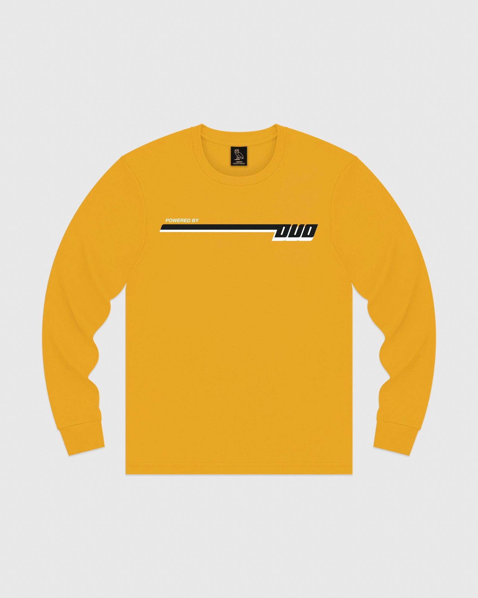 COMPETITION LONGSLEEVE T-SHIRT - AUTUMN YELLOW IMAGE #1