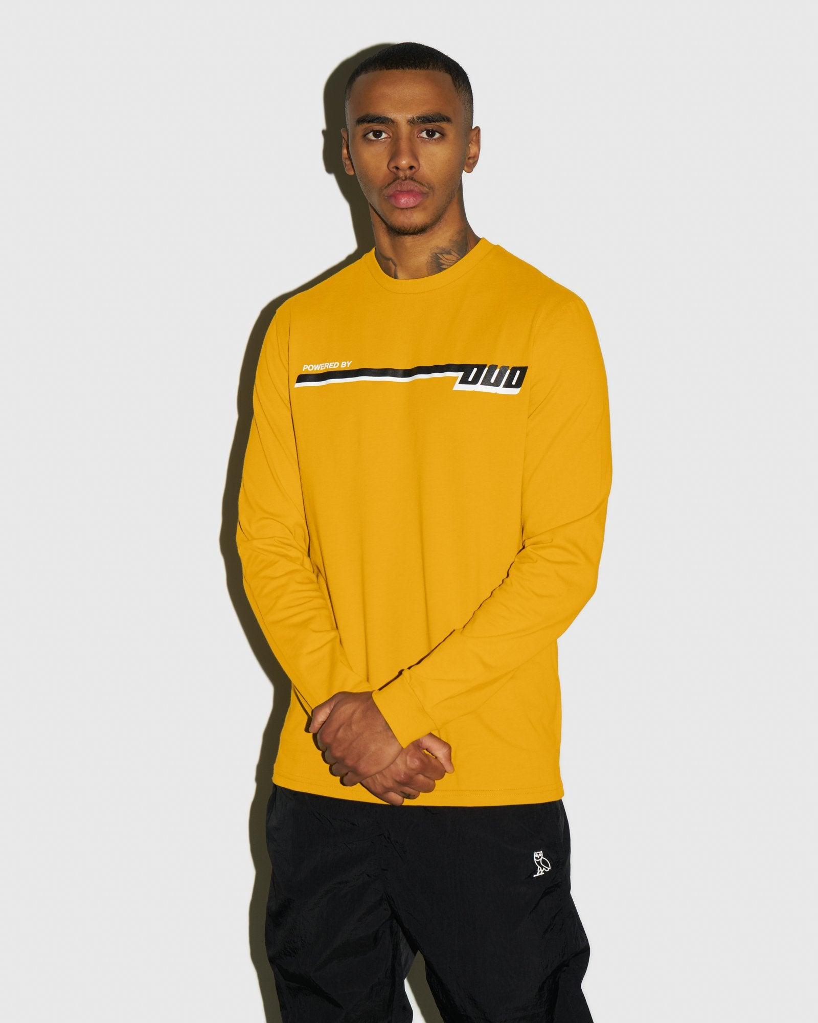 COMPETITION LONGSLEEVE T-SHIRT - AUTUMN YELLOW IMAGE #2