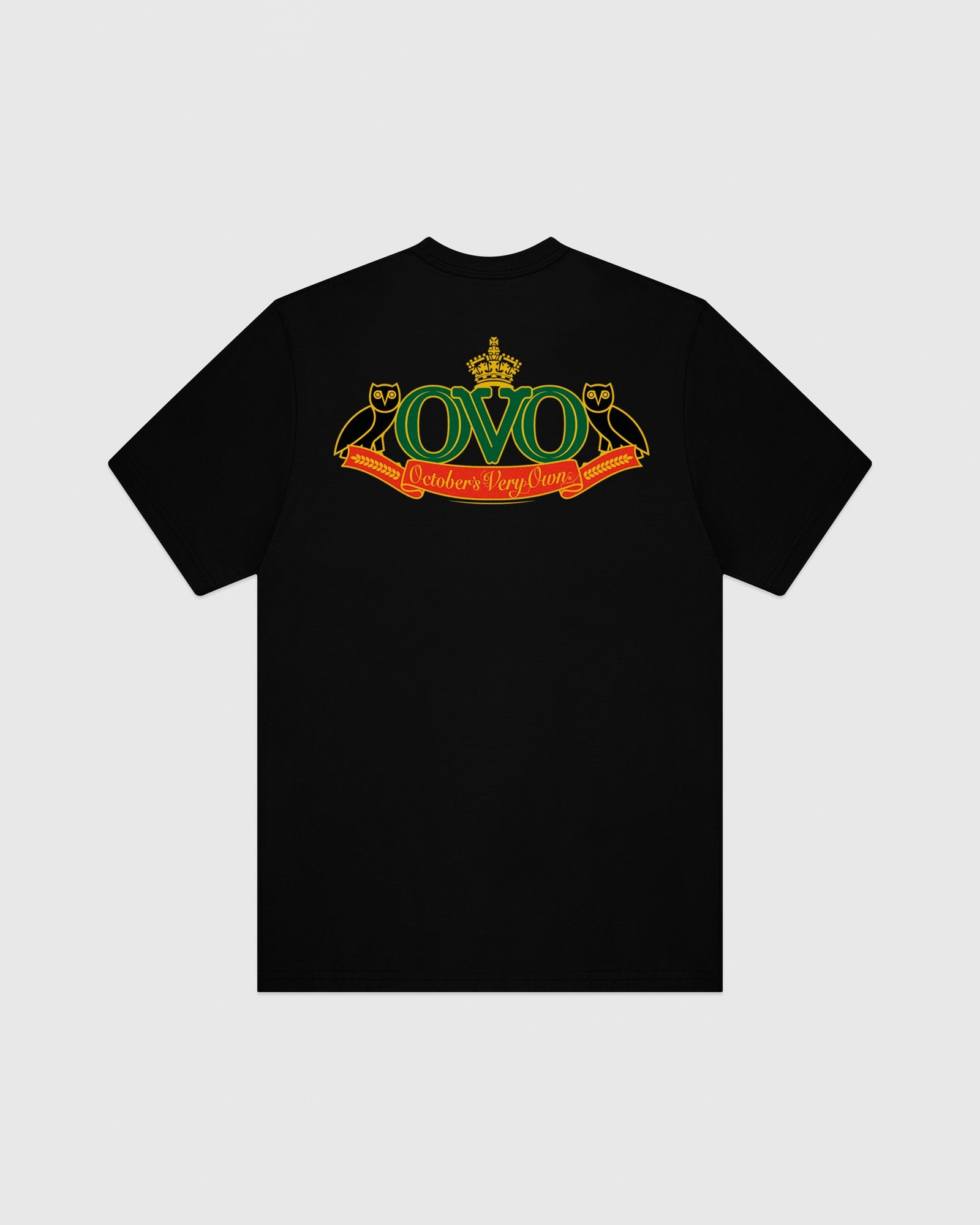 ROYAL EMBLEM T-SHIRT - BLACK IMAGE #6