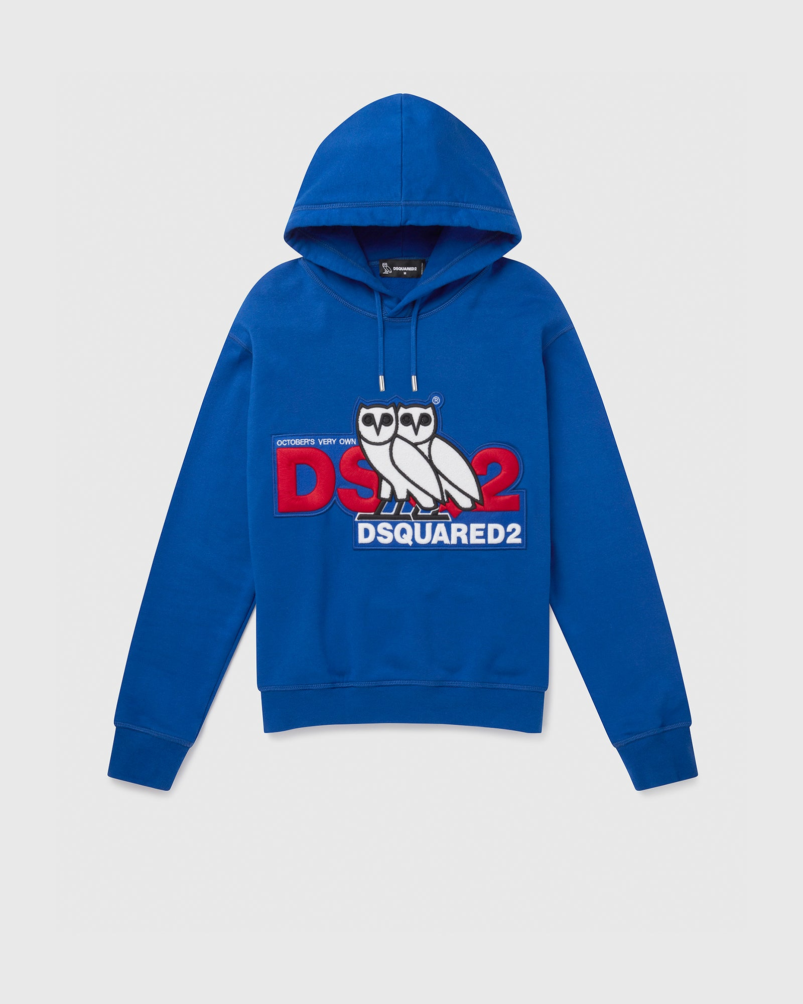 OVO X D2 HOODED SWEATSHIRT - BLUE IMAGE #1