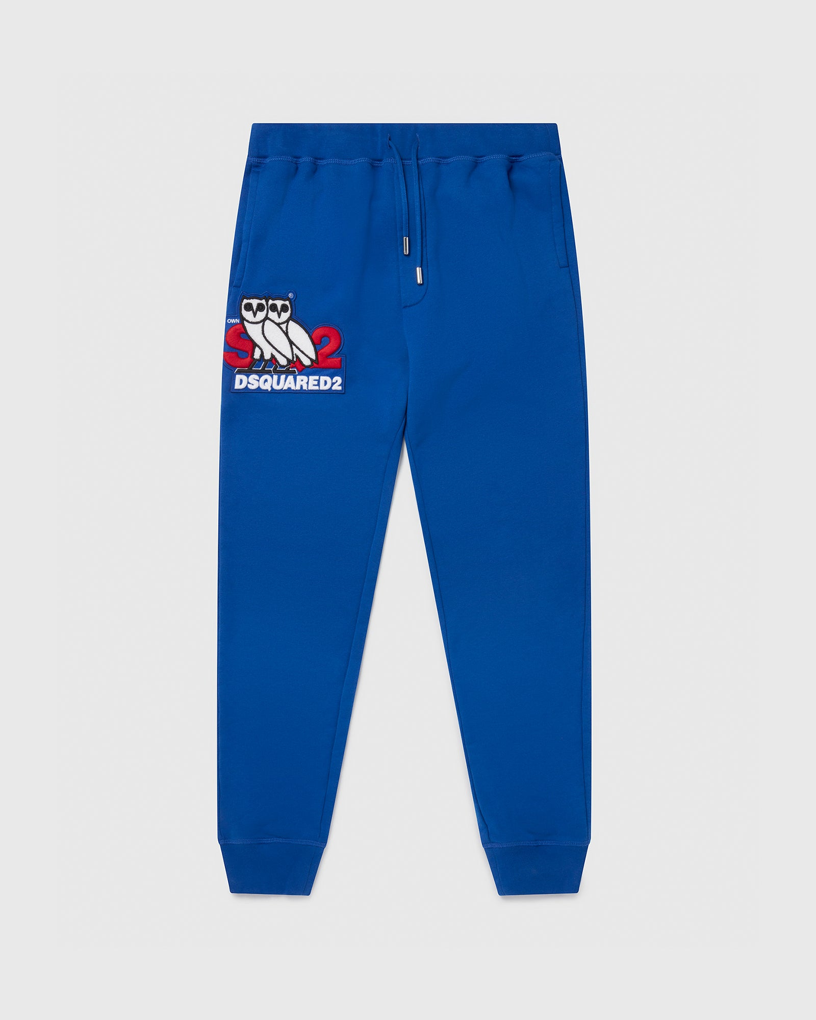 OVO X D2 SWEATPANTS - BLUE IMAGE #1