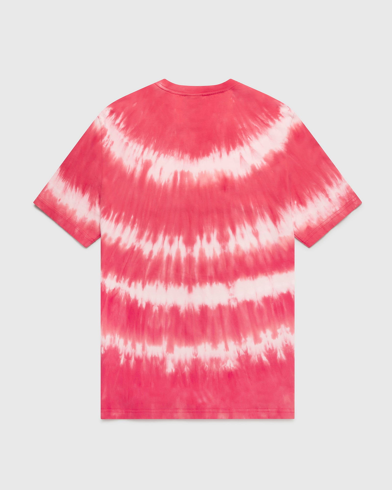 OVO MARBLE TIE DYE T-SHIRT - RED/PINK IMAGE #2