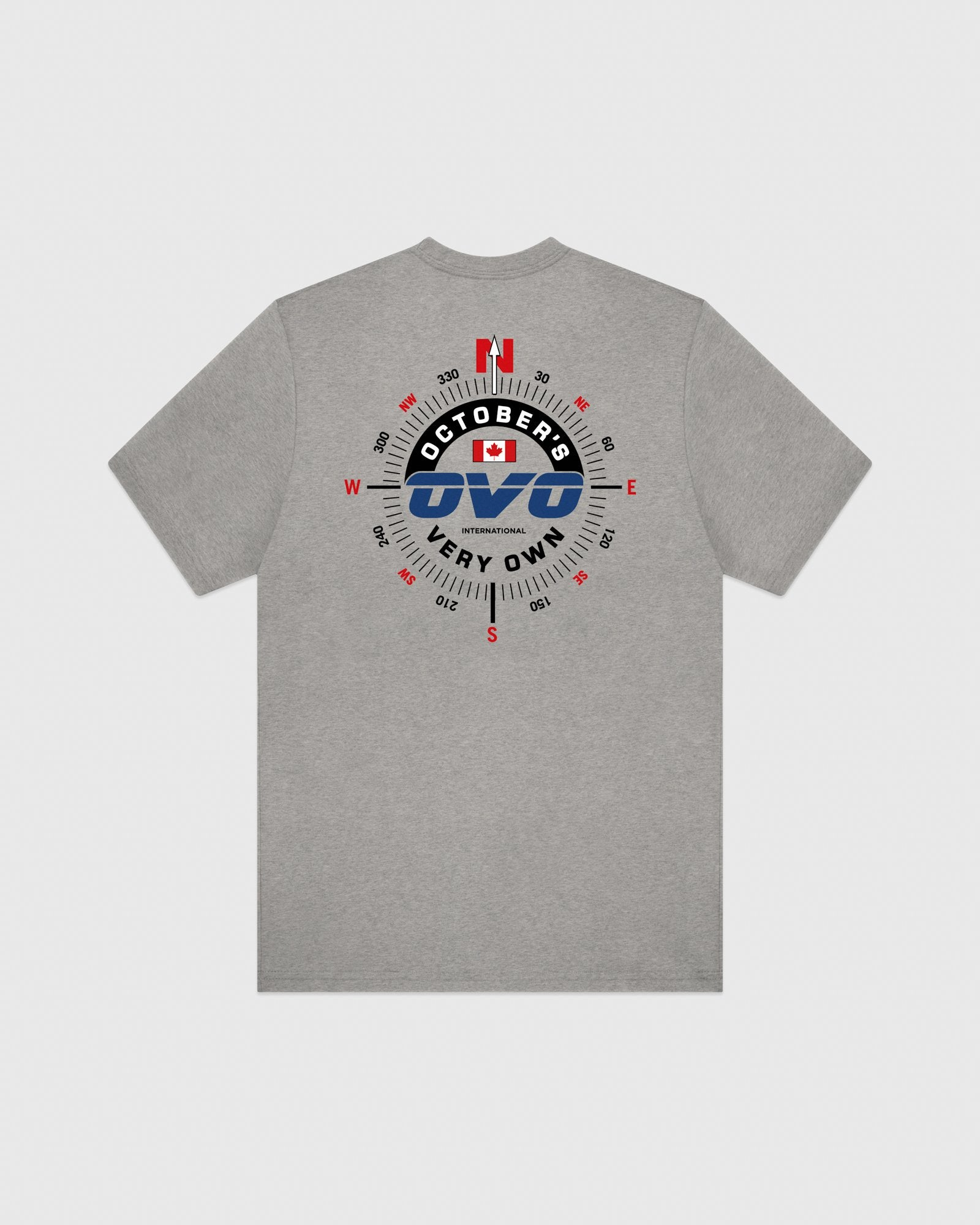 NAVIGATOR T-SHIRT - HEATHER GREY IMAGE #5