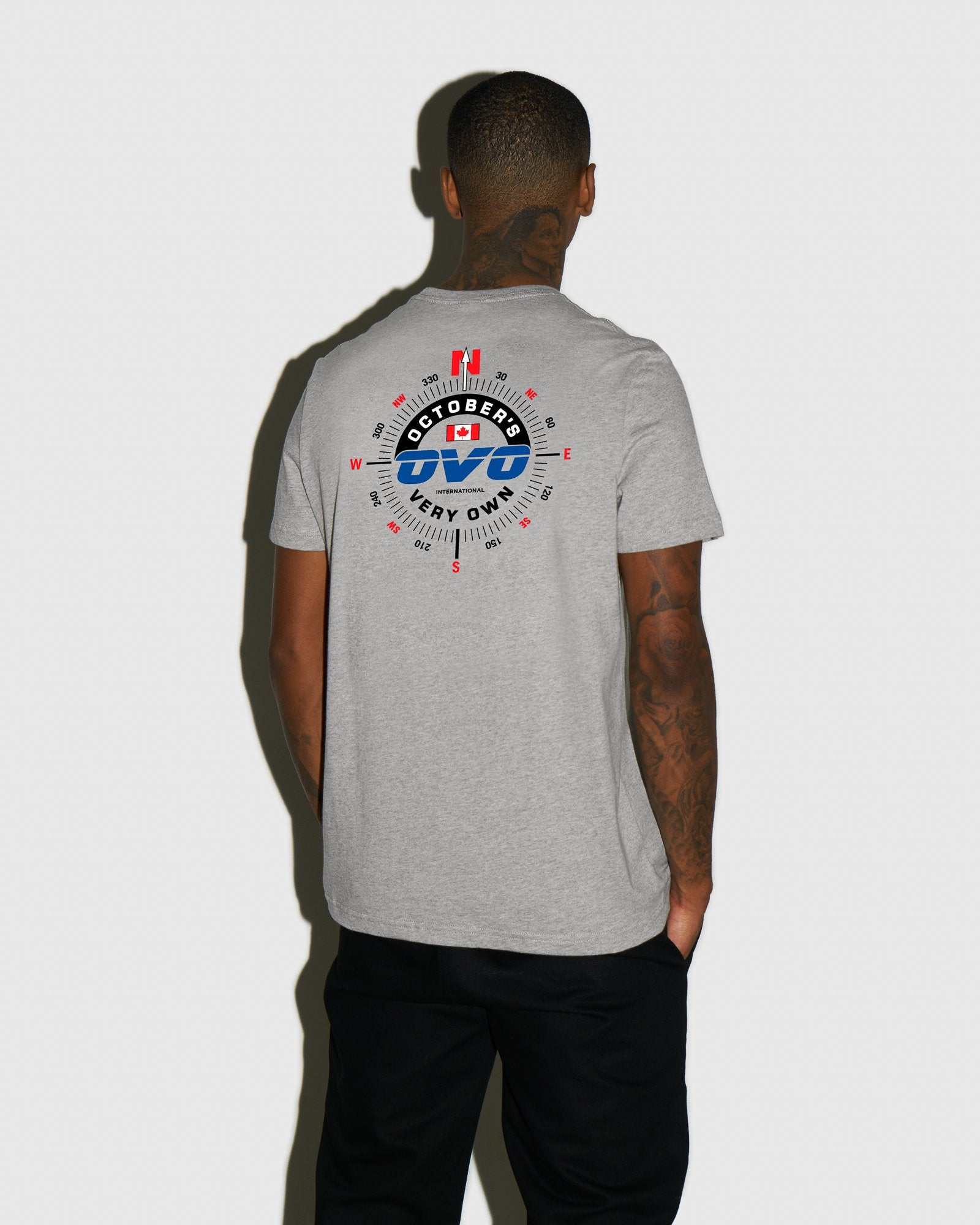 NAVIGATOR T-SHIRT - HEATHER GREY IMAGE #3