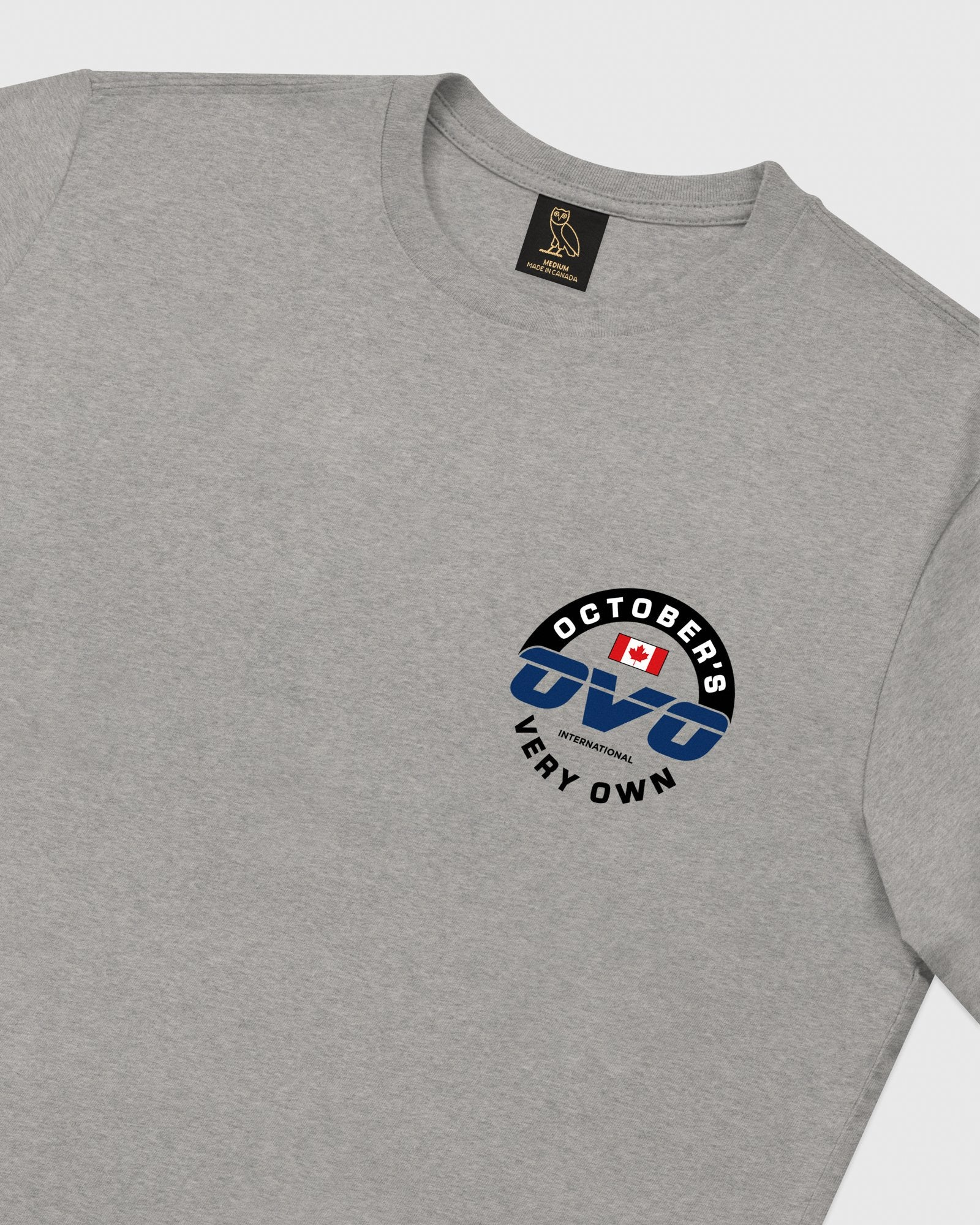 NAVIGATOR T-SHIRT - HEATHER GREY IMAGE #4