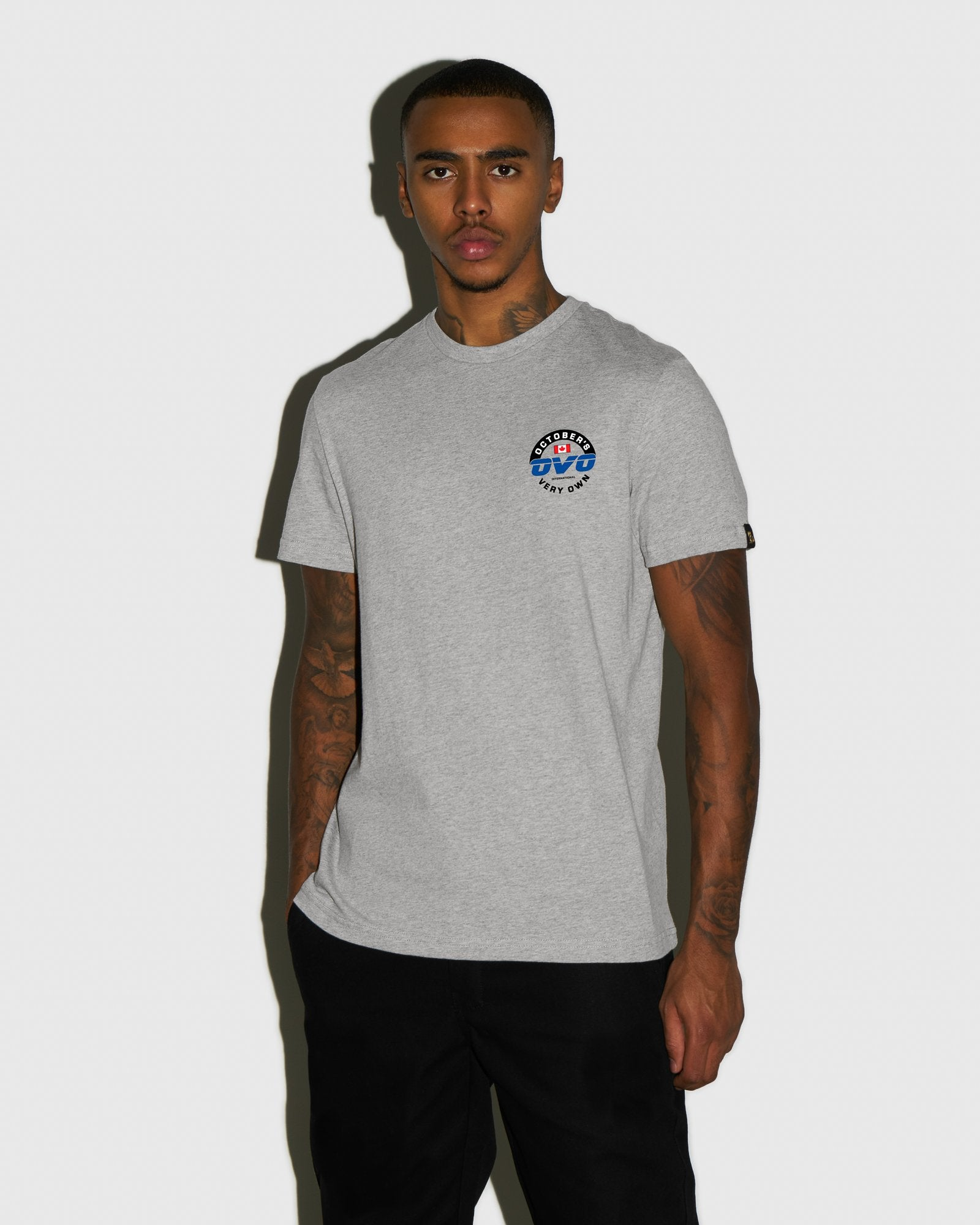 NAVIGATOR T-SHIRT - HEATHER GREY IMAGE #2