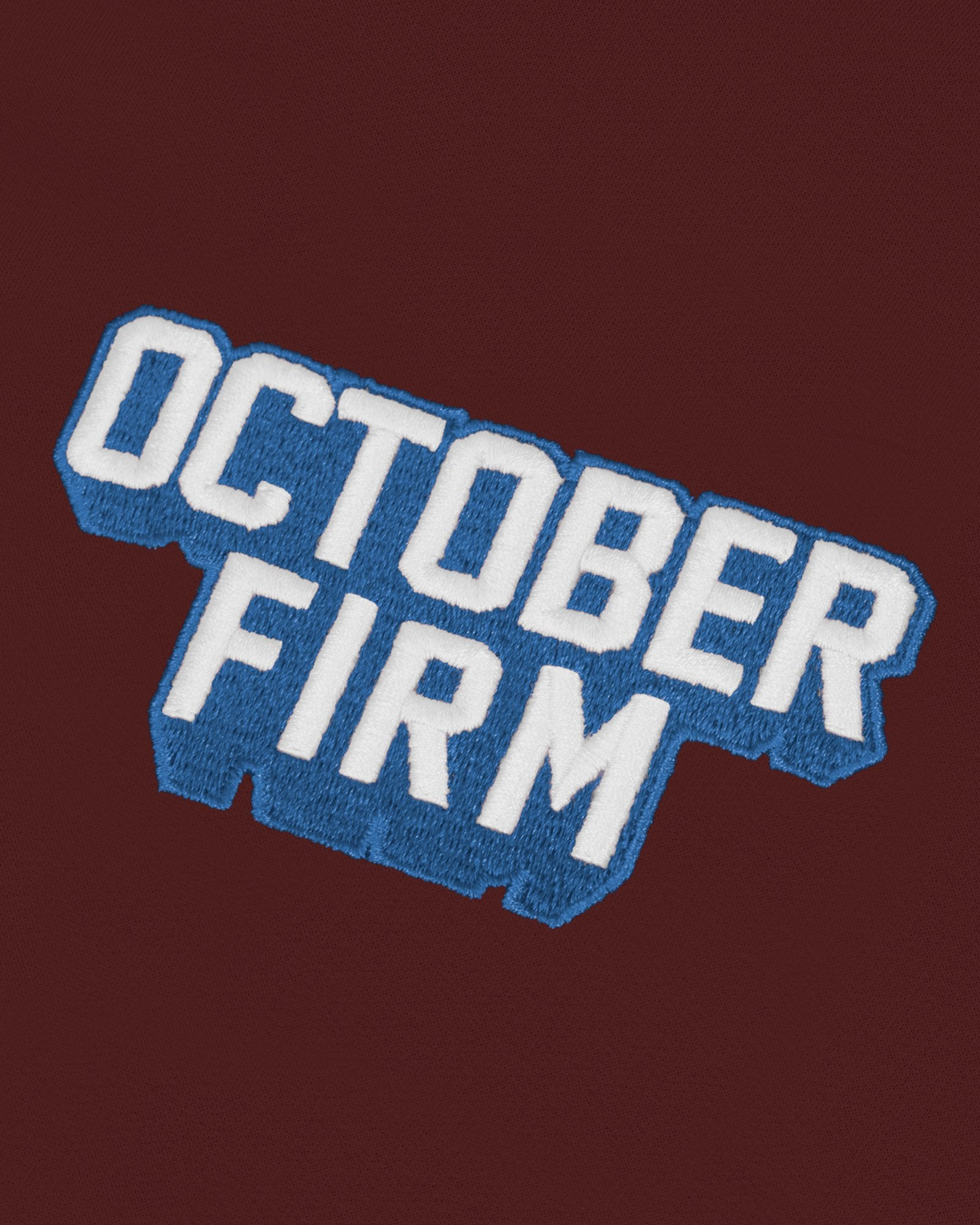 OCTOBER FIRM SHADOW HOODIE - BURGUNDY IMAGE #4