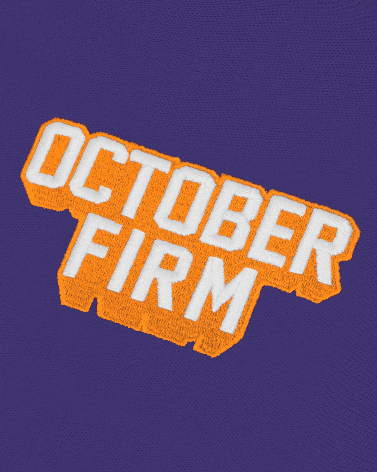 OCTOBER FIRM SHADOW HOODIE - PURPLE IMAGE #4