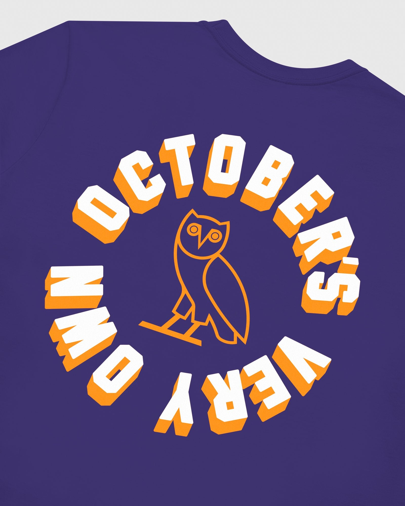 OCTOBER FIRM SHADOW LONGSLEEVE T-SHIRT - PURPLE IMAGE #6