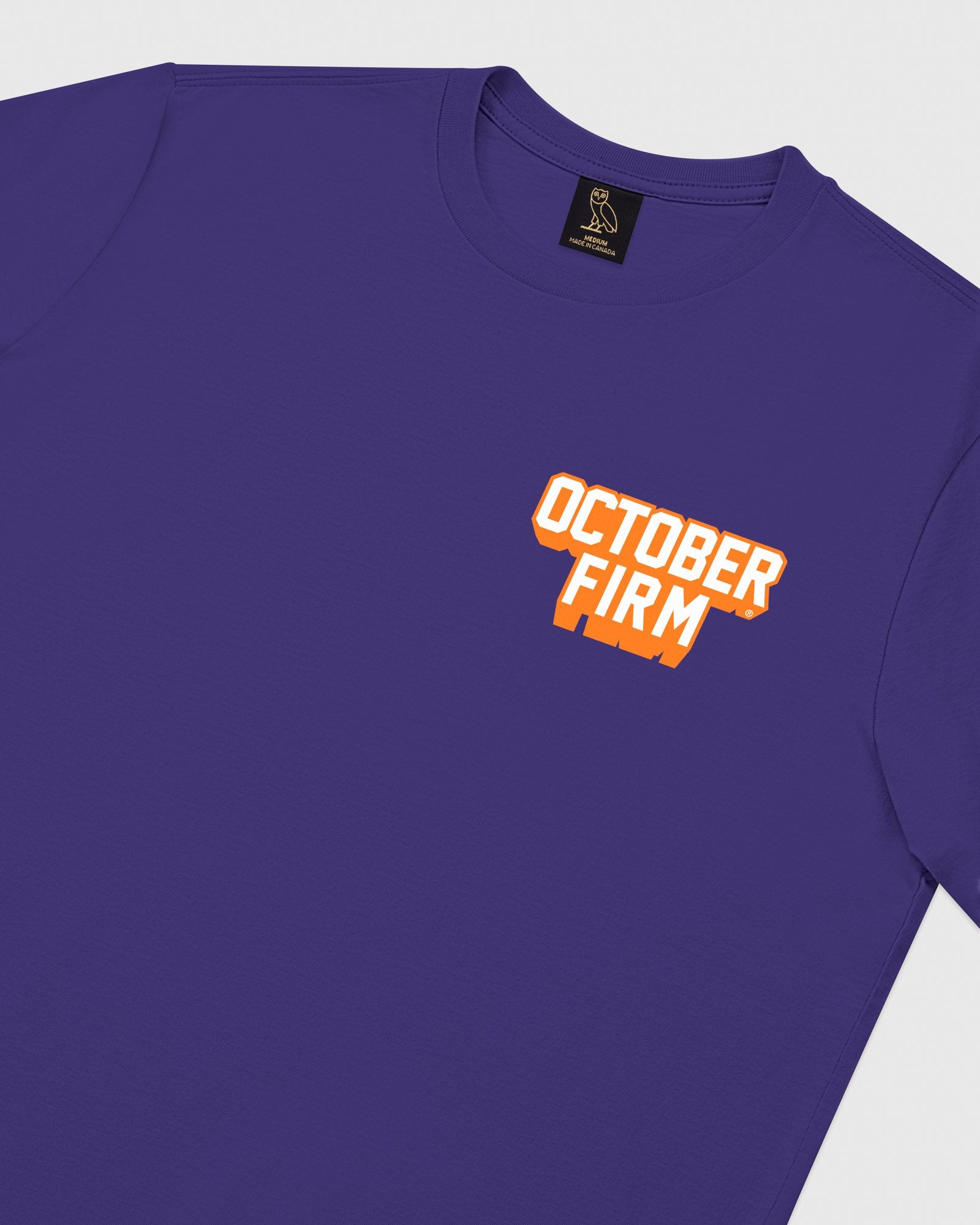 OCTOBER FIRM SHADOW LONGSLEEVE T-SHIRT - PURPLE IMAGE #4