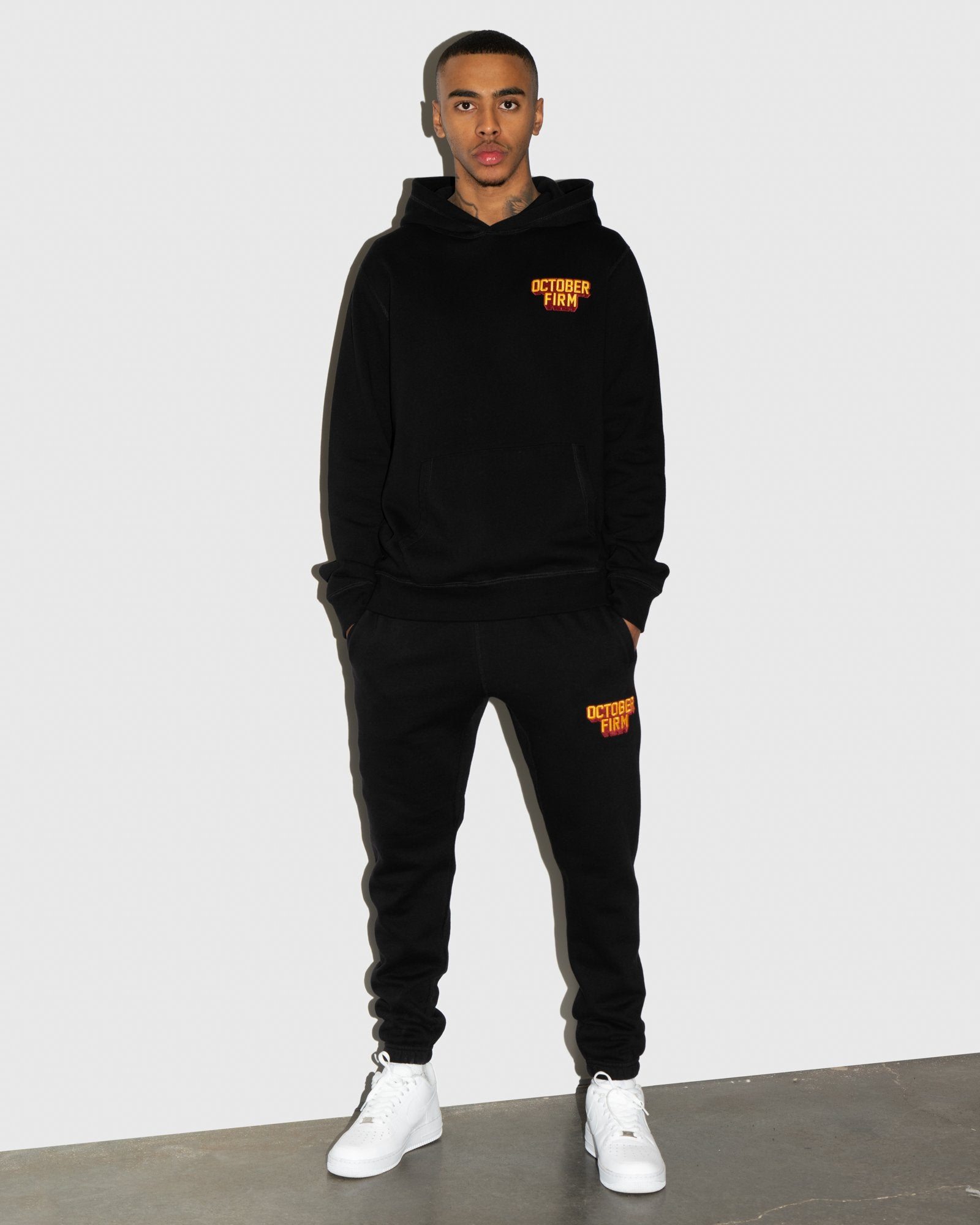 OCTOBER FIRM SHADOW SWEATPANT - BLACK IMAGE #2