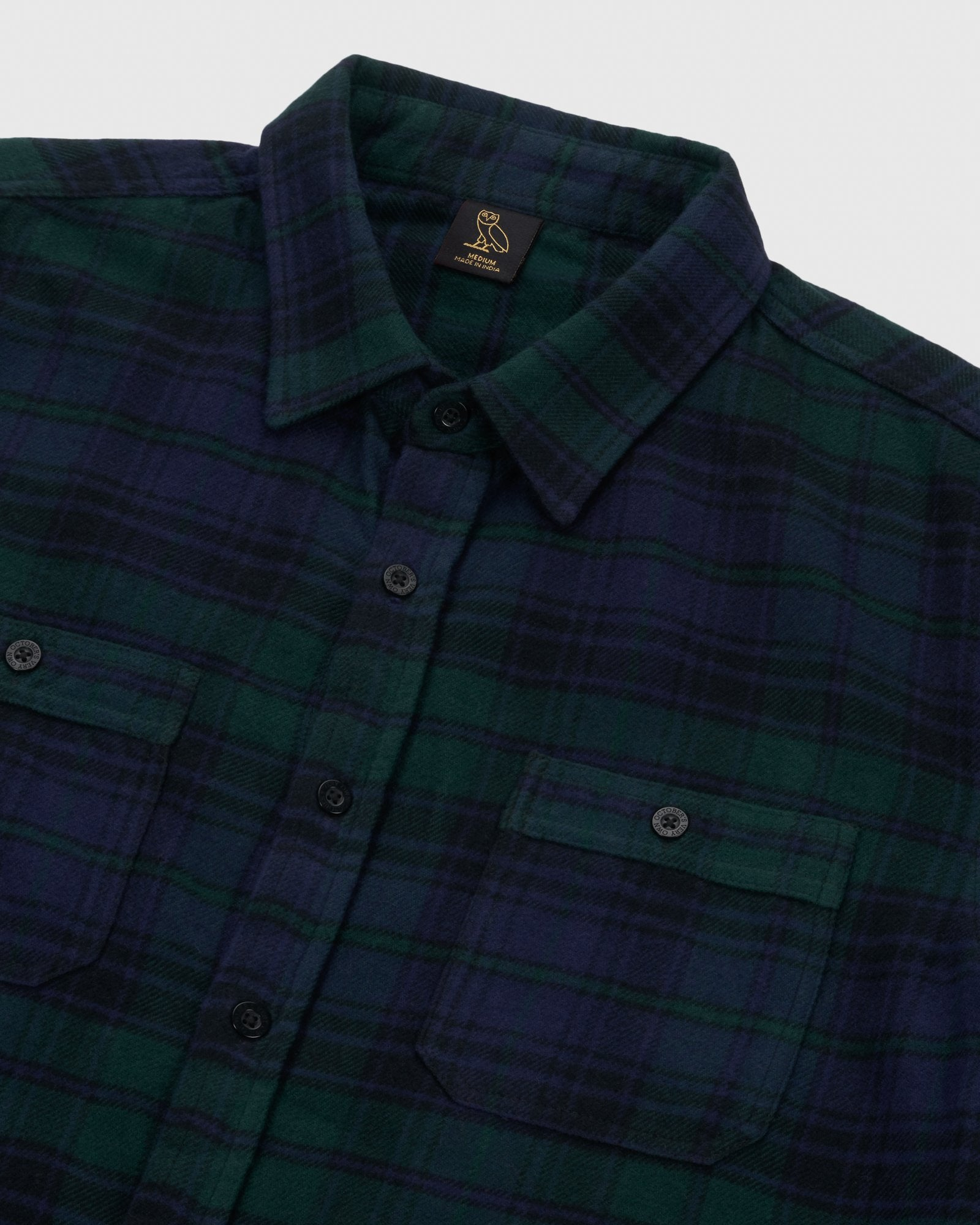 CIRCLE WORDMARK FLANNEL - BLACKWATCH IMAGE #4