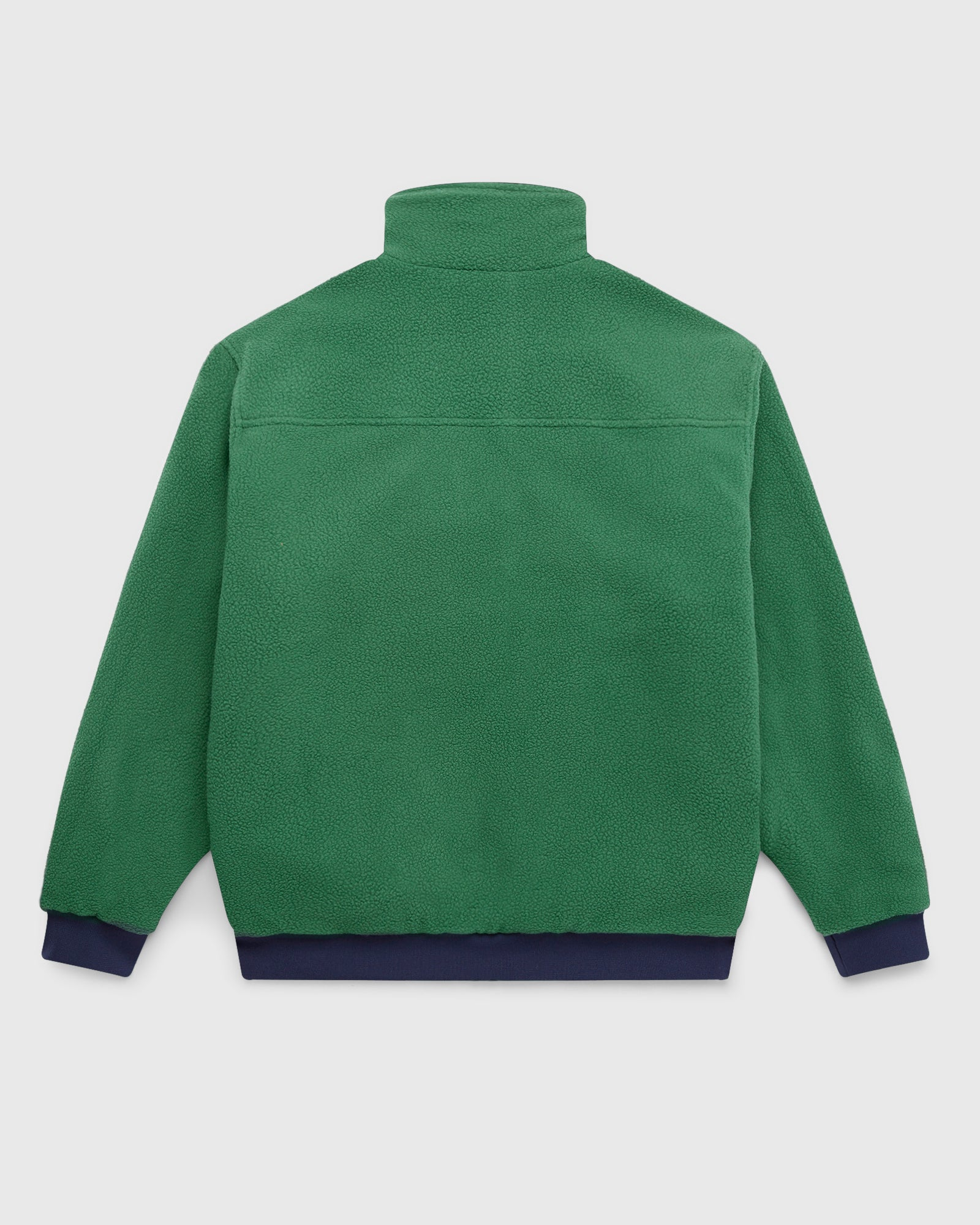 OVO POLARTEC® REVERSIBLE BOMBER - DARK GREEN/NAVY IMAGE #4