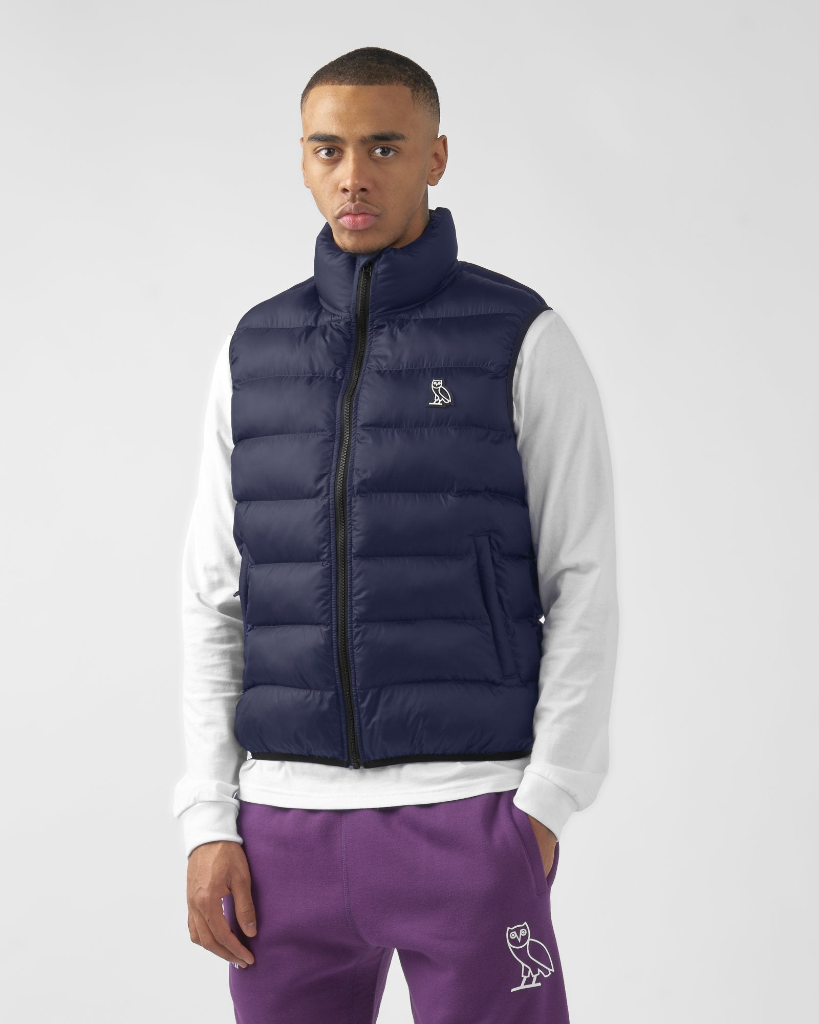 PUFFER VEST - BRIGHT NAVY IMAGE #3