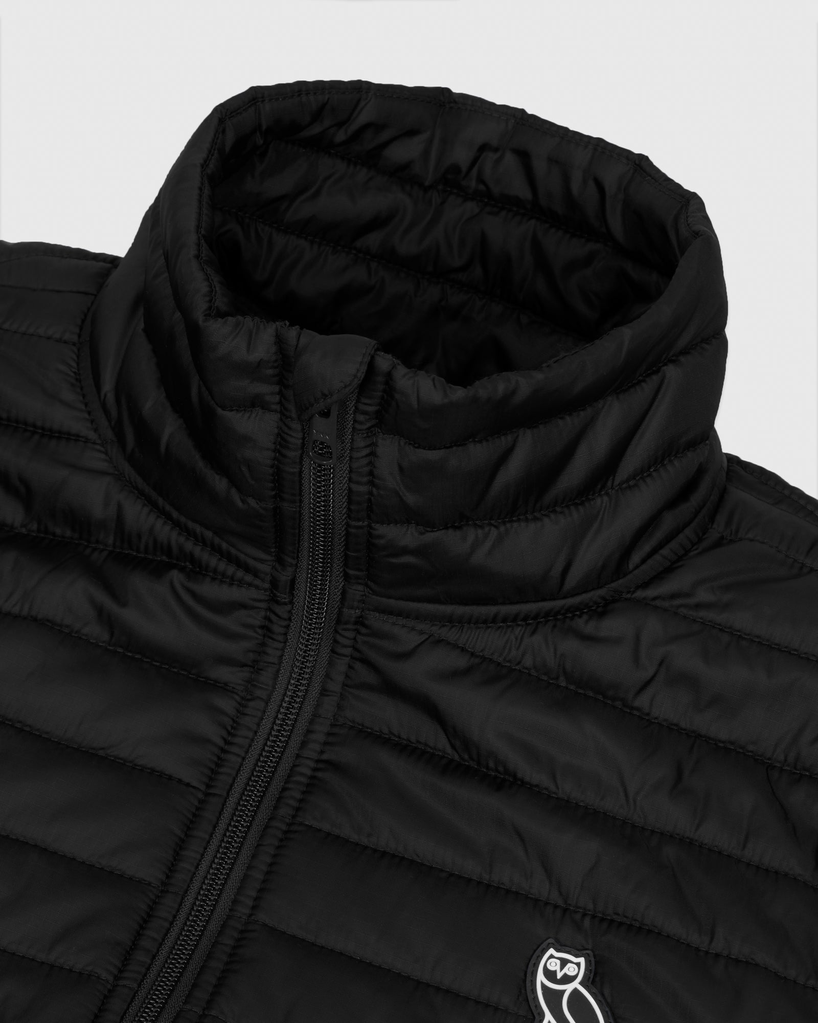QUILTED LINER JACKET - BLACK IMAGE #5