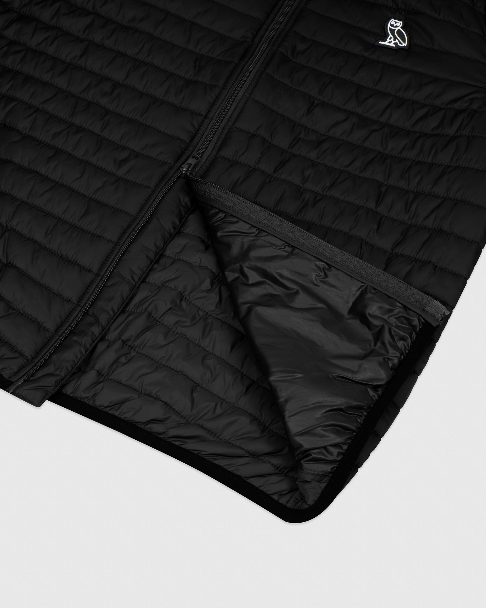 QUILTED LINER JACKET - BLACK IMAGE #6