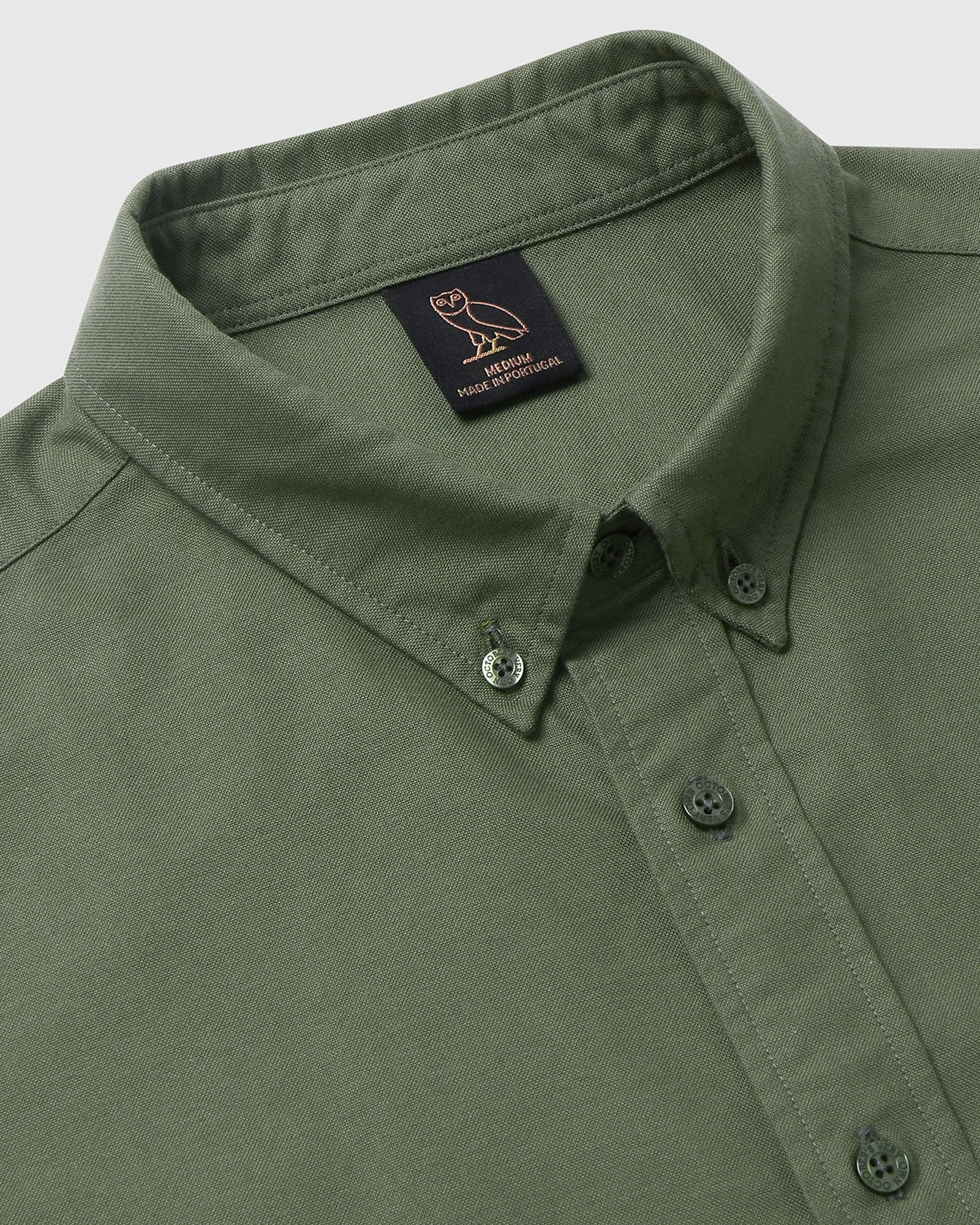 CLASSIC OXFORD - MILITARY GREEN IMAGE #3