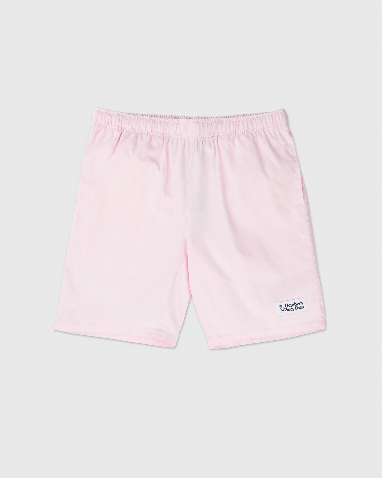 PULL ON TWILL SHORT - PALE PINK IMAGE #1