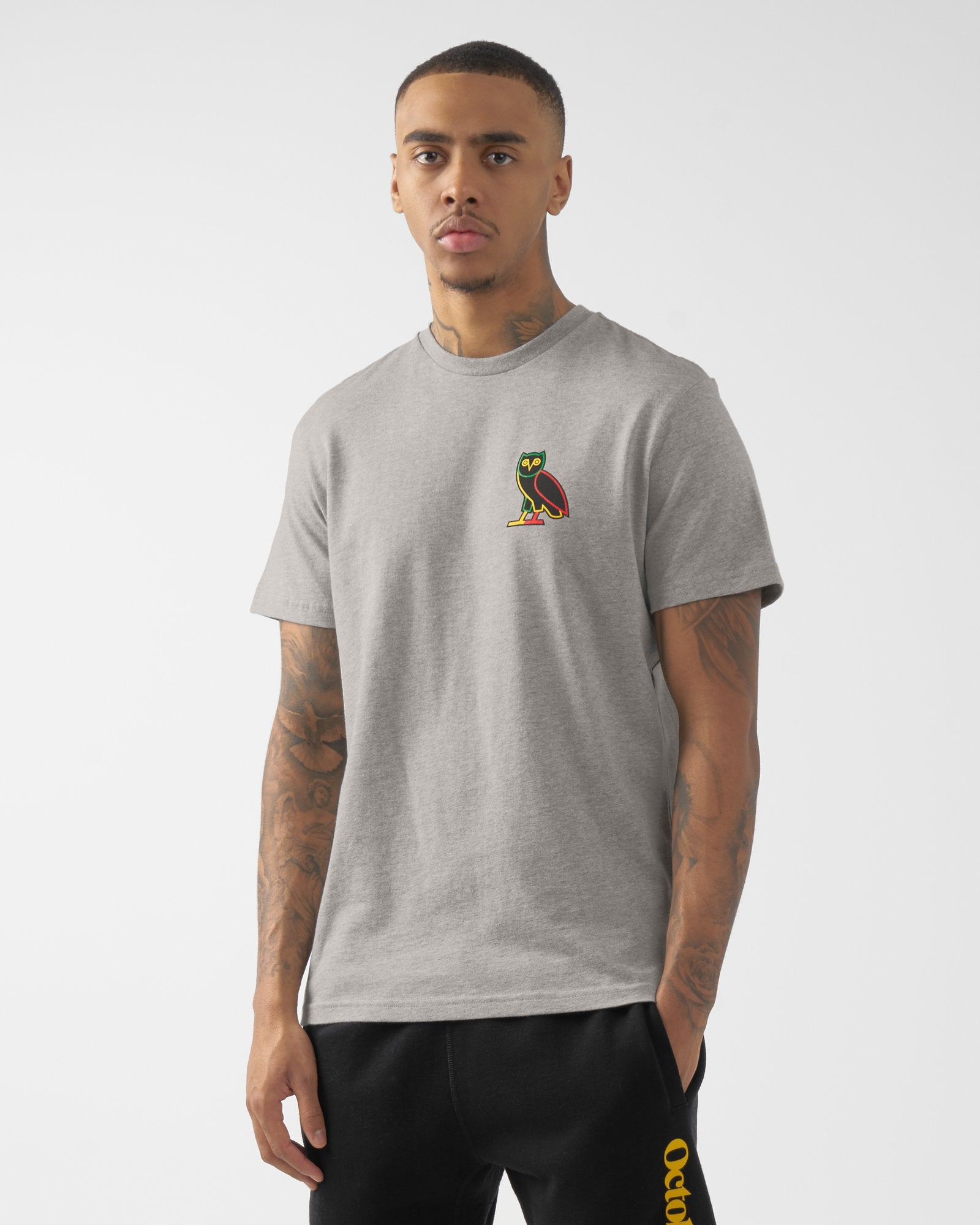 RESORT T-SHIRT - HEATHER GREY IMAGE #4