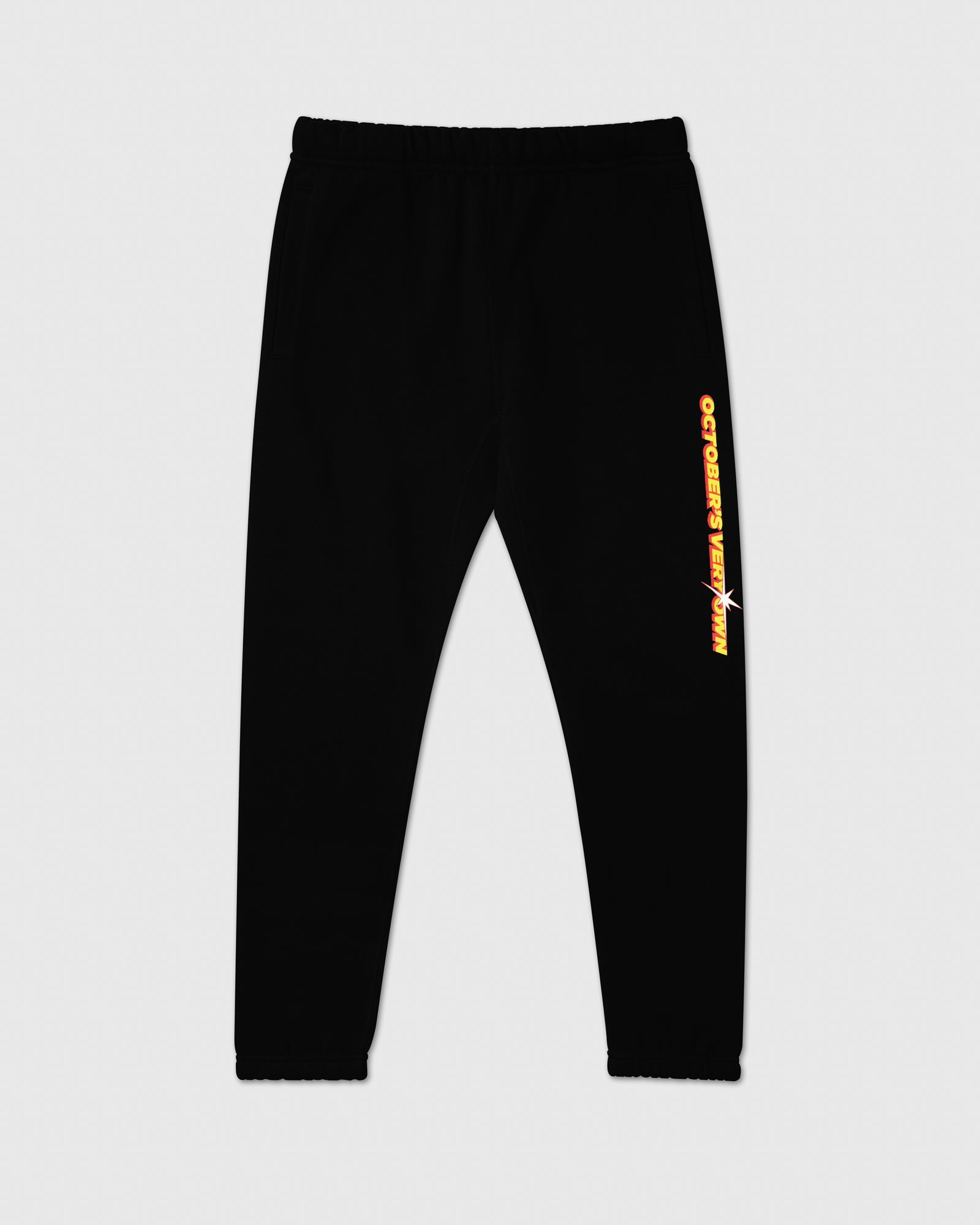 SHINING WORDMARK SWEATPANT - BLACK IMAGE #1