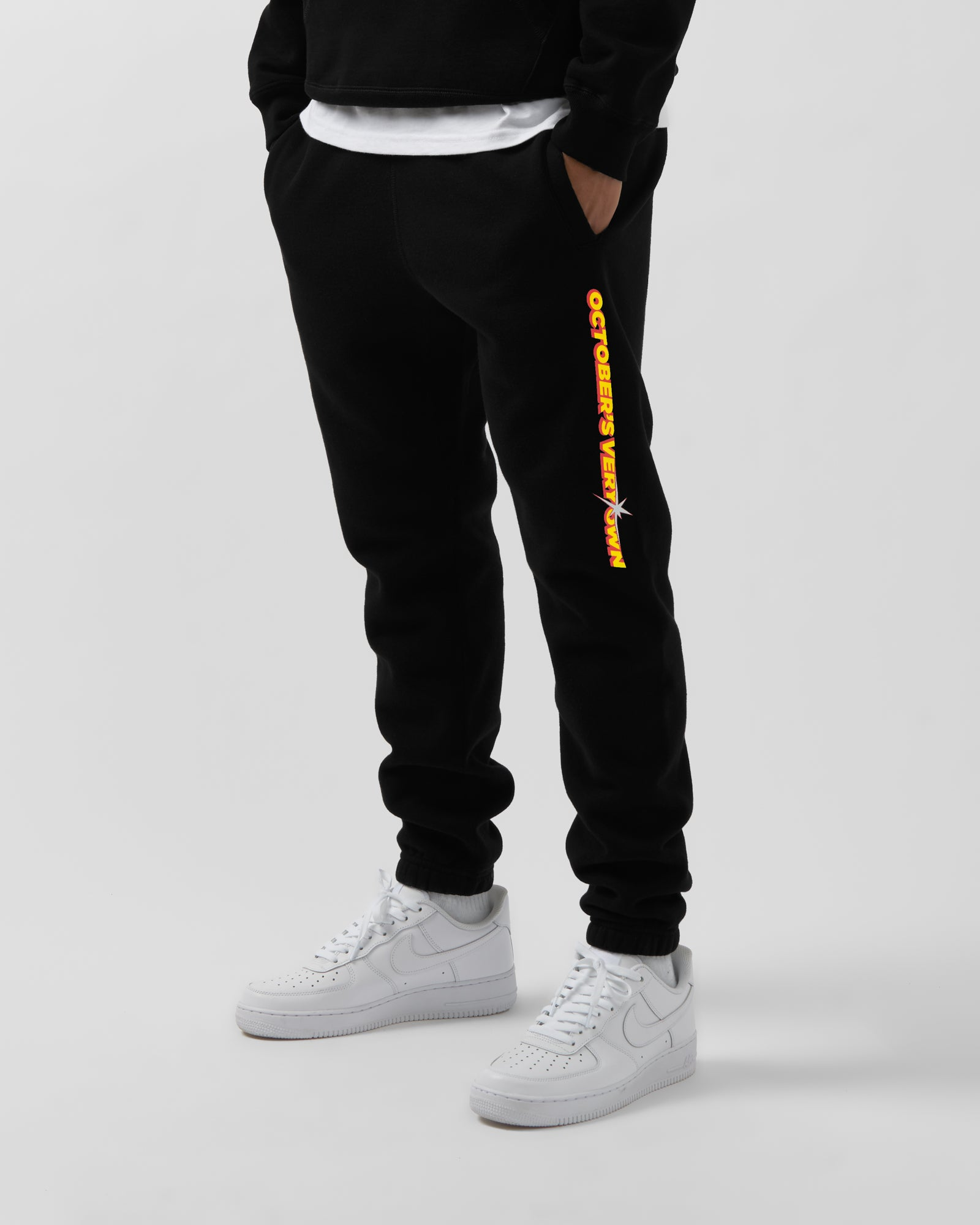 SHINING WORDMARK SWEATPANT - BLACK IMAGE #3