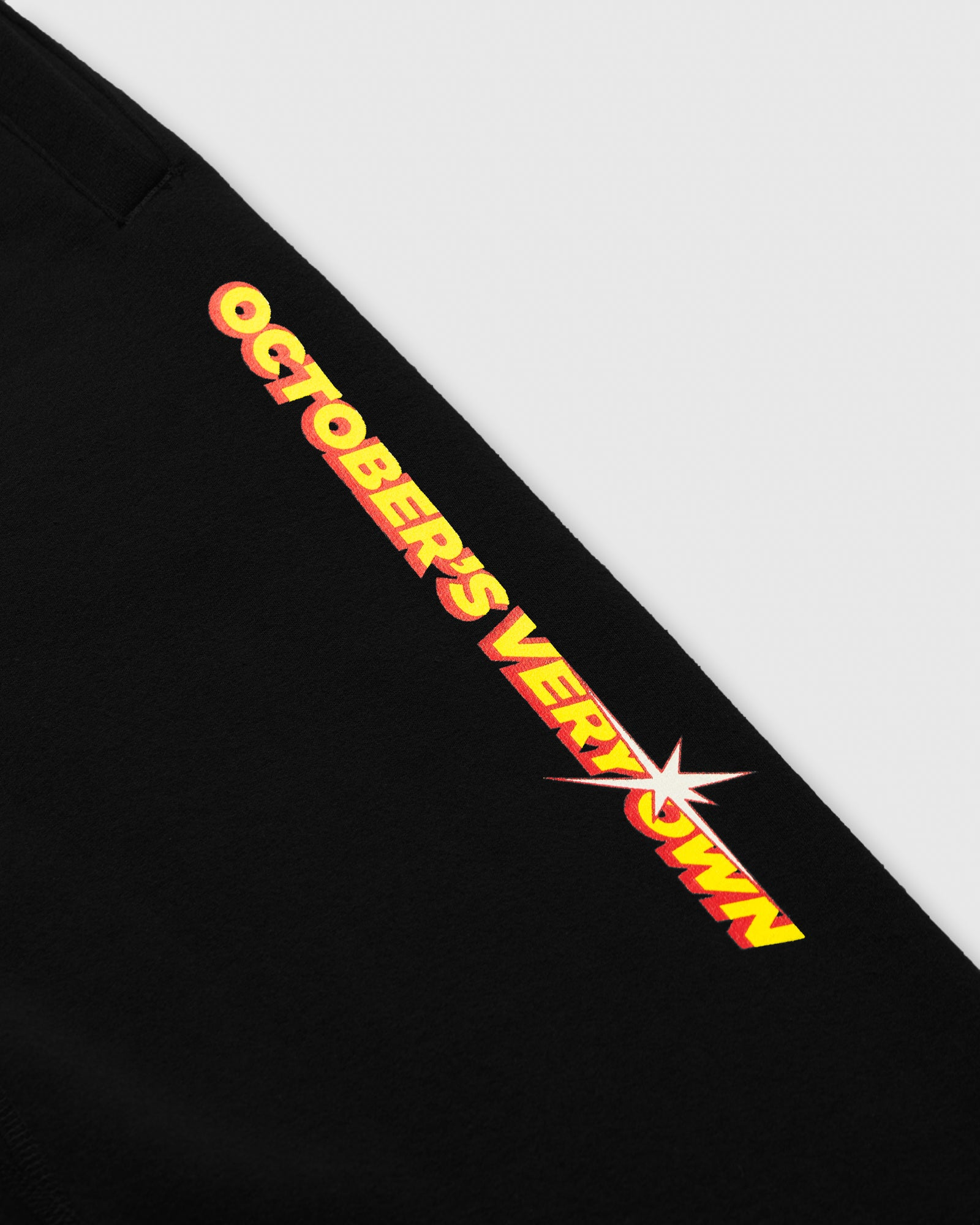 SHINING WORDMARK SWEATPANT - BLACK IMAGE #2