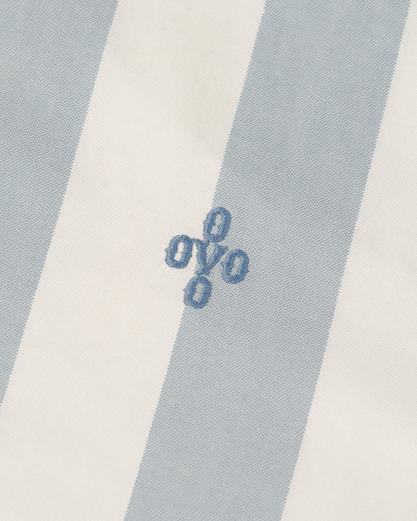 STRIPED OXFORD SHIRT - DUSTY BLUE IMAGE #2
