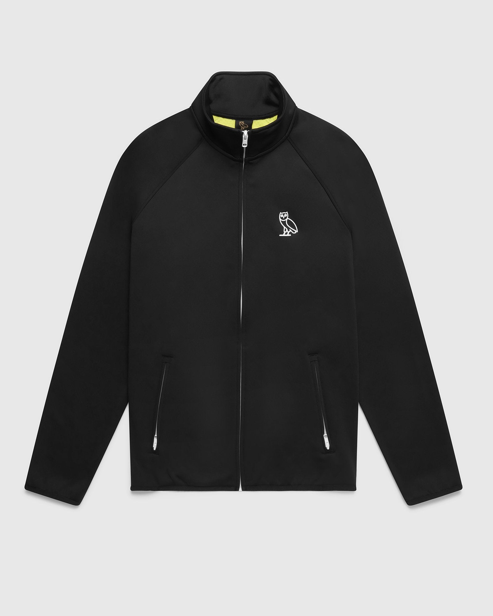 OVO HEAVYWEIGHT INSULATED TRACK JACKET - BLACK IMAGE #1